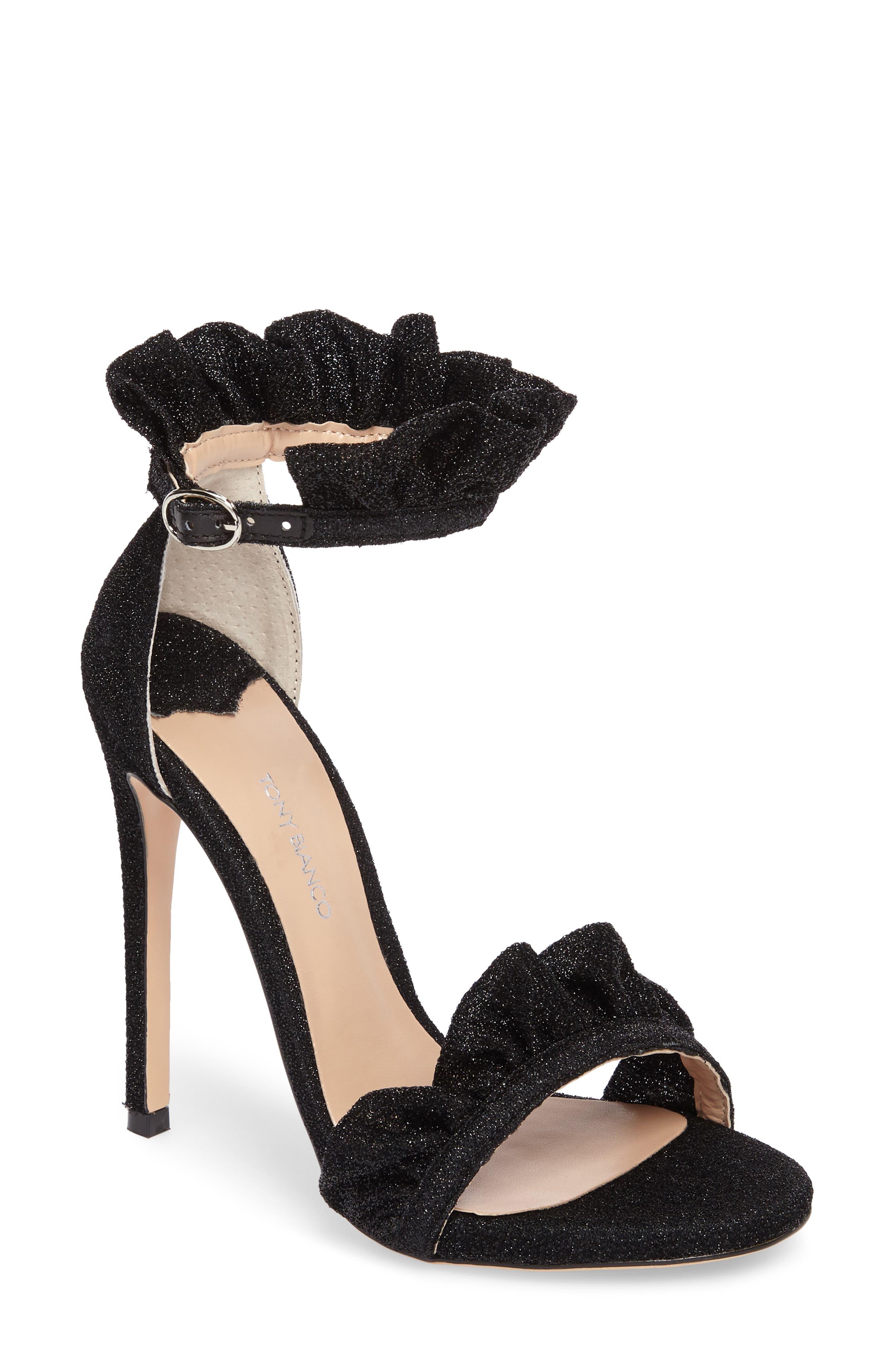 Tony Bianco Ascot Sandal, Black