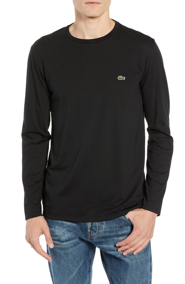 Lacoste Regular Fit Long Sleeve Pima Cotton T-Shirt