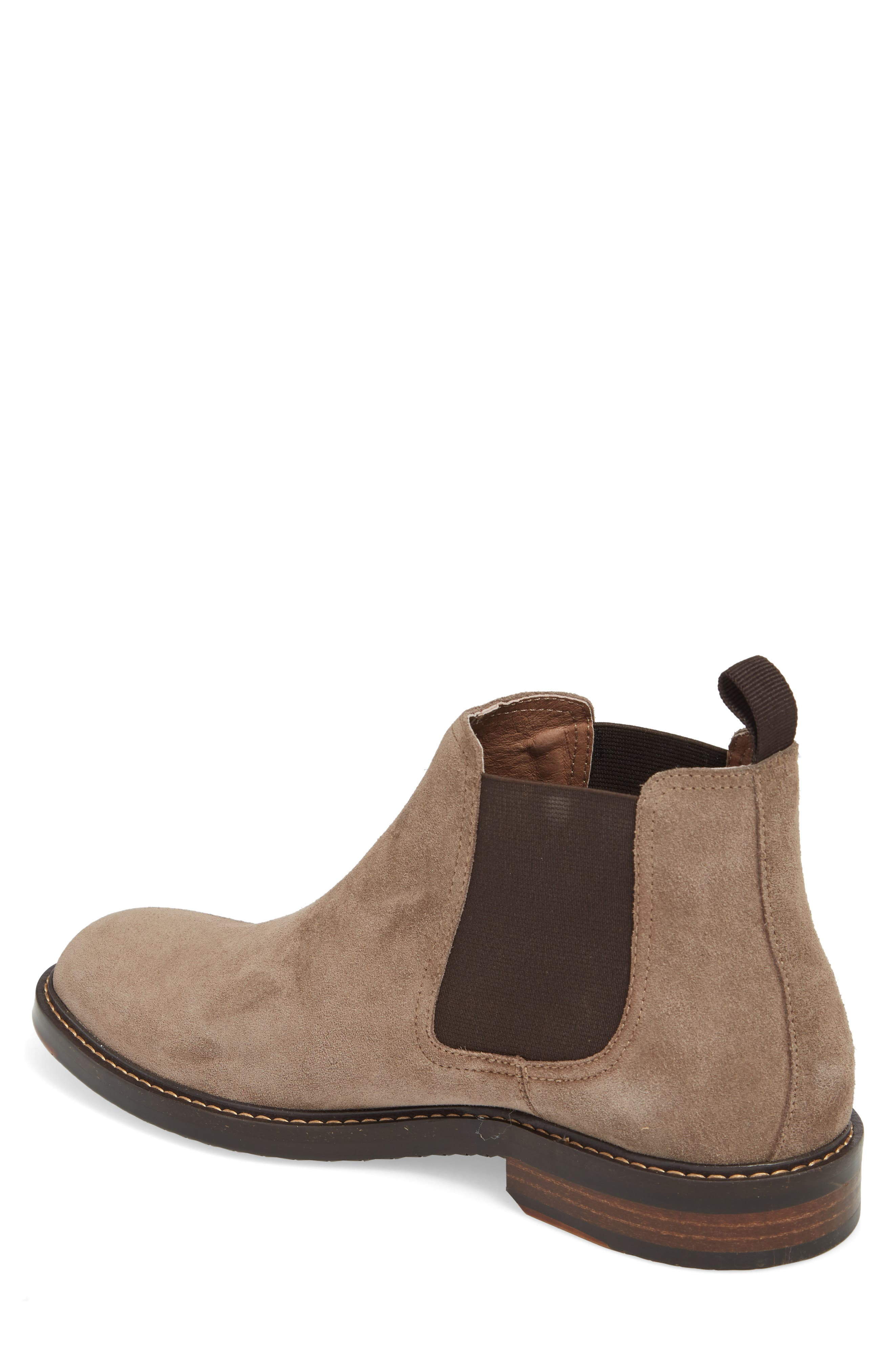 Brooks Chelsea Boot,                             Alternate thumbnail 2, color,                             TAUPE SUEDE