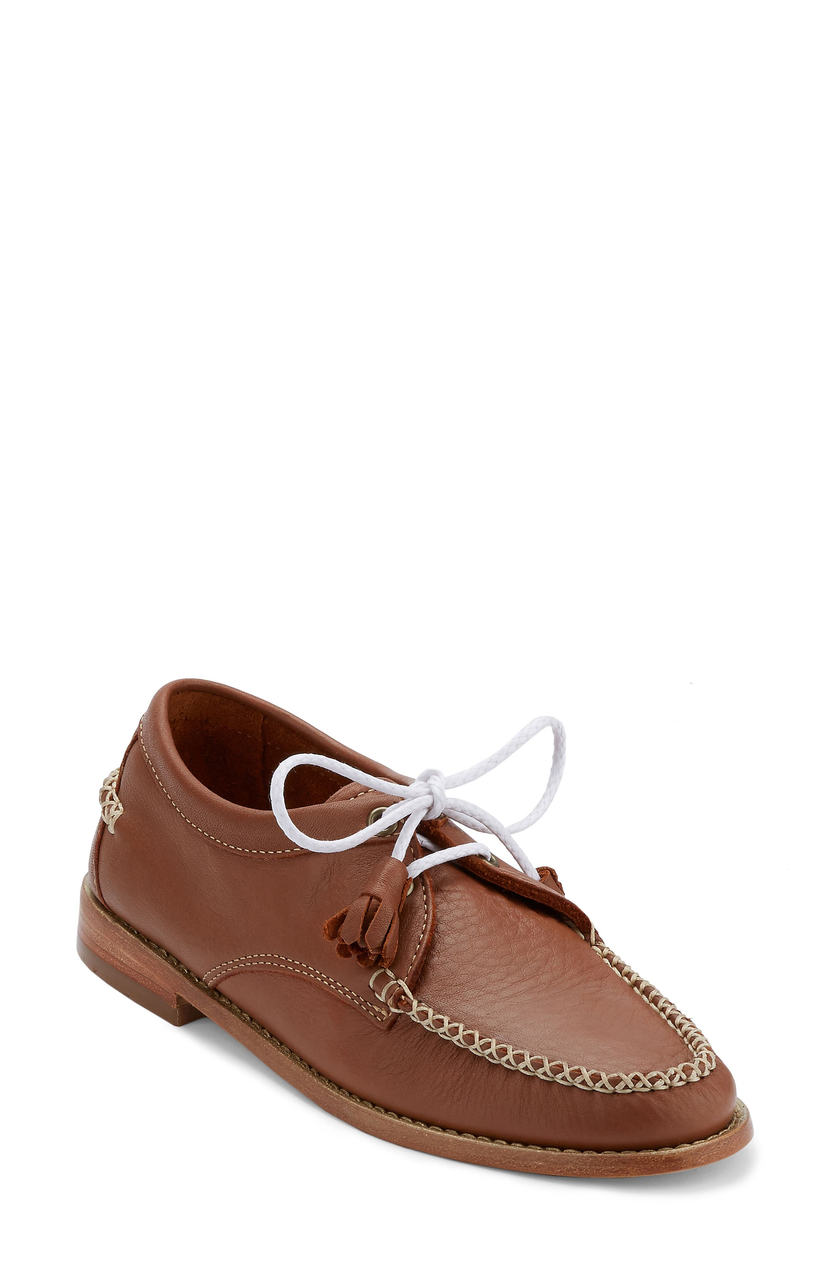 'Winnie' Leather Oxford,                             Main thumbnail 6, color,