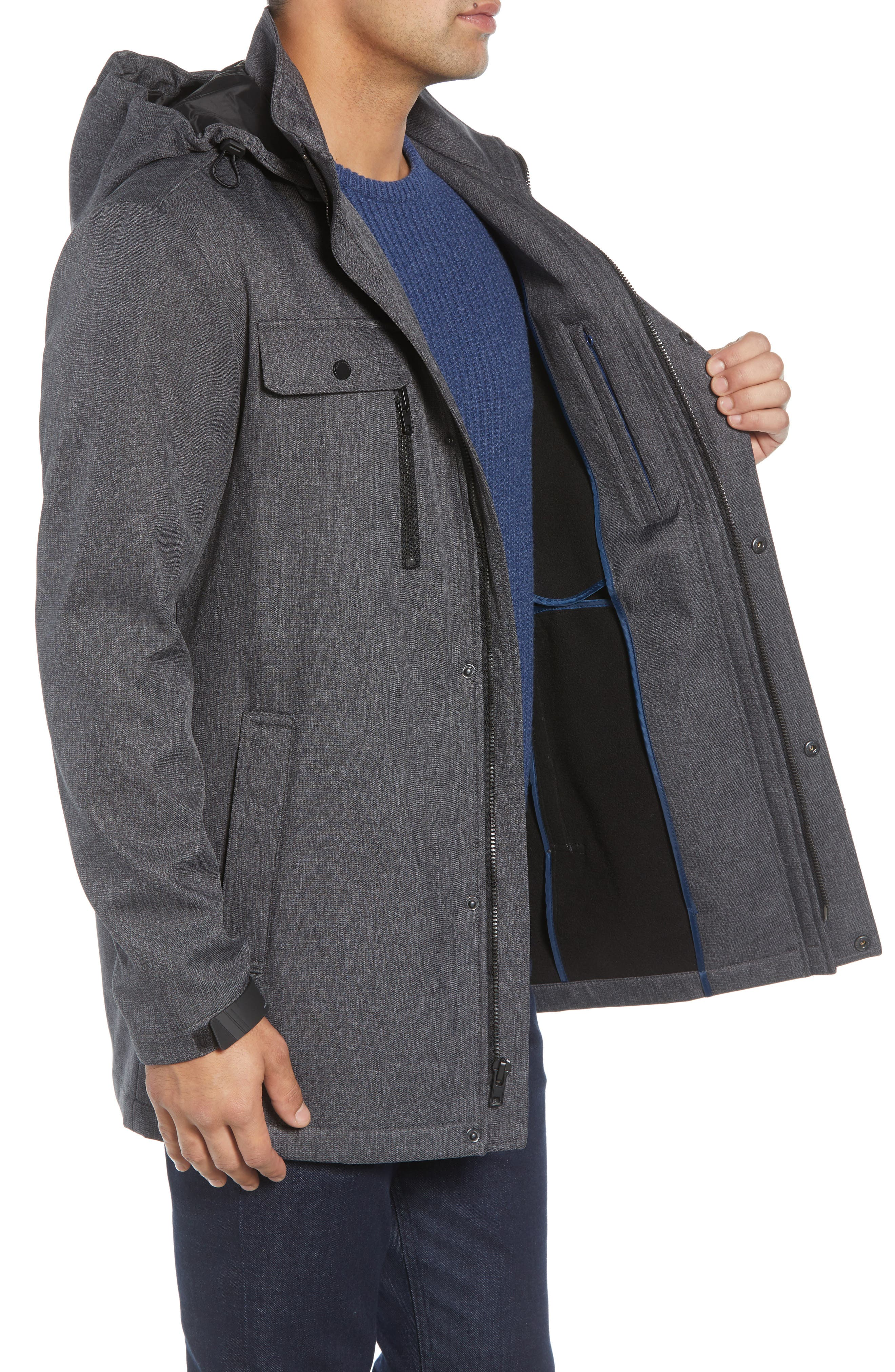 Doyle Soft Shell Jacket,                             Alternate thumbnail 3, color,                             001