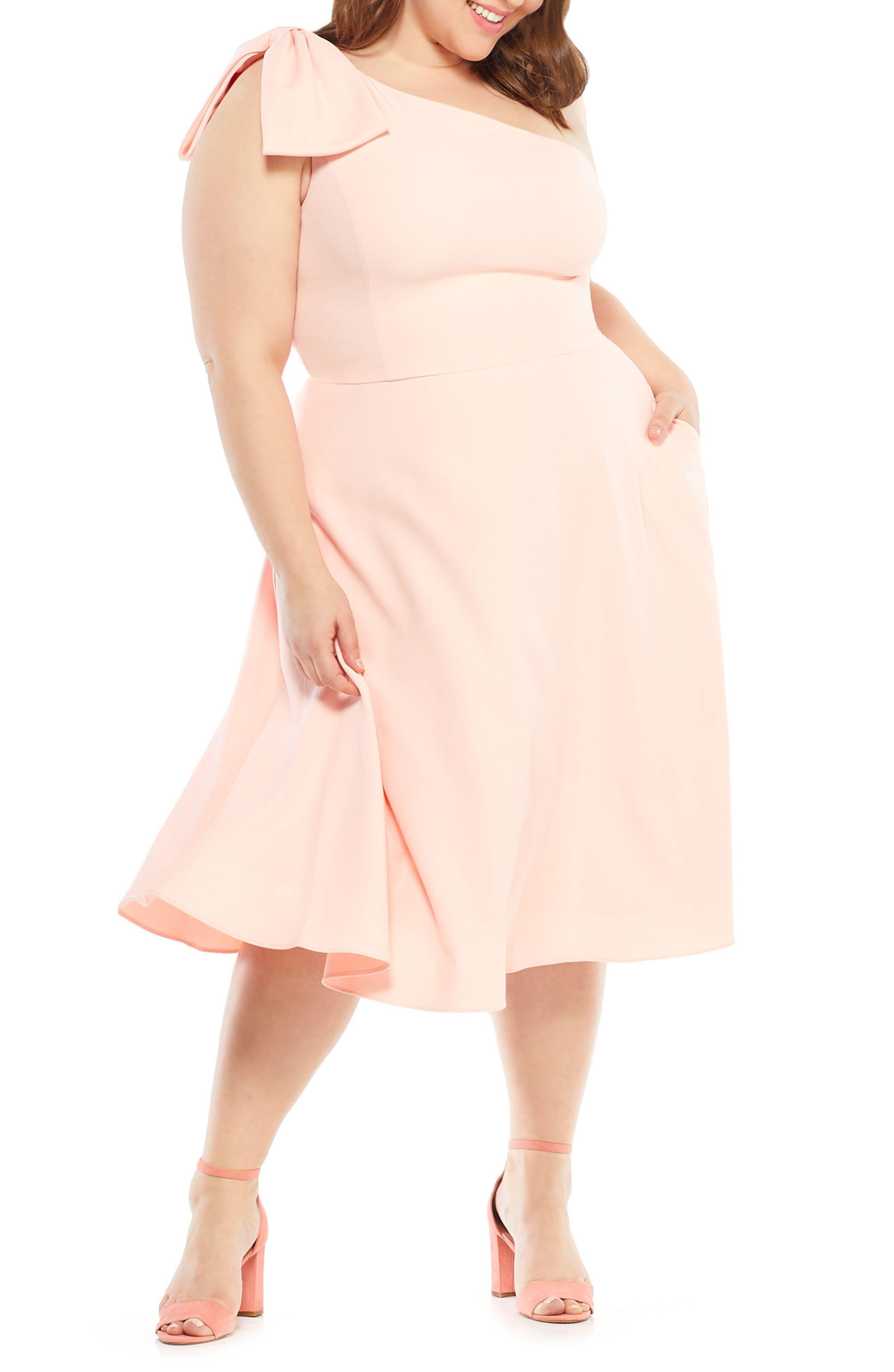 Yvonne Dream Crepe One-Shoulder Dress,                             Alternate thumbnail 15, color,