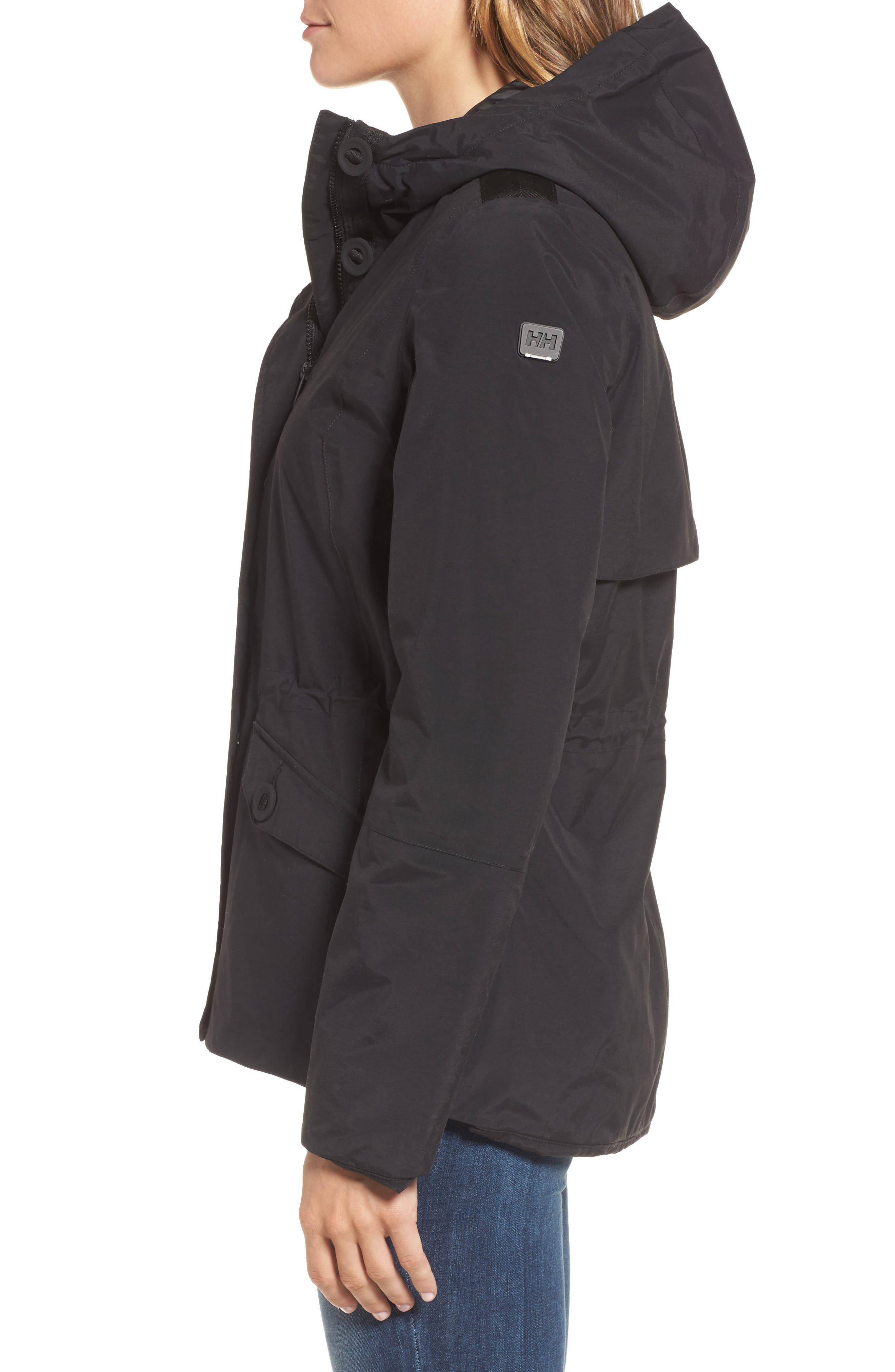 Donegal Waterproof PrimaLoft<sup>®</sup> Insulated Jacket,                             Alternate thumbnail 3, color,                             009