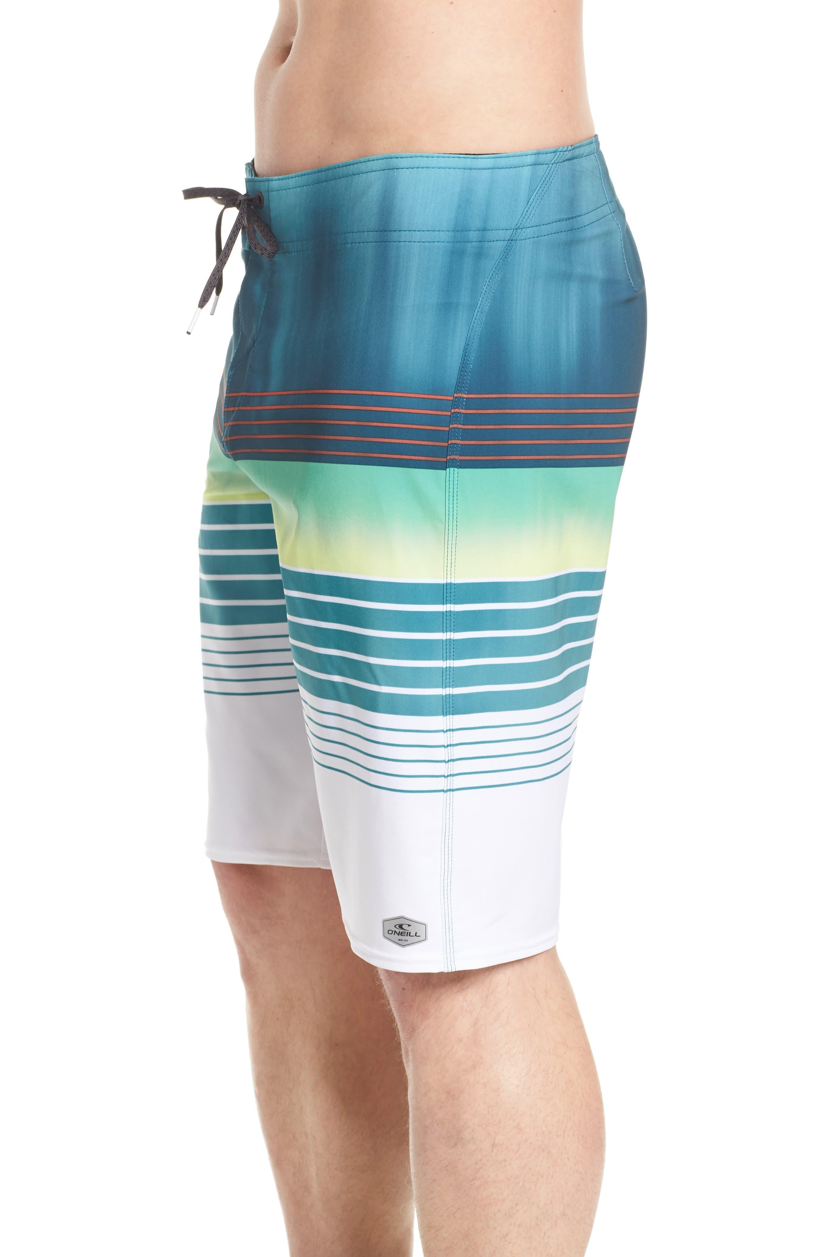 Hyperfreak Heist Board Shorts,                             Alternate thumbnail 4, color,                             DARK BLUE