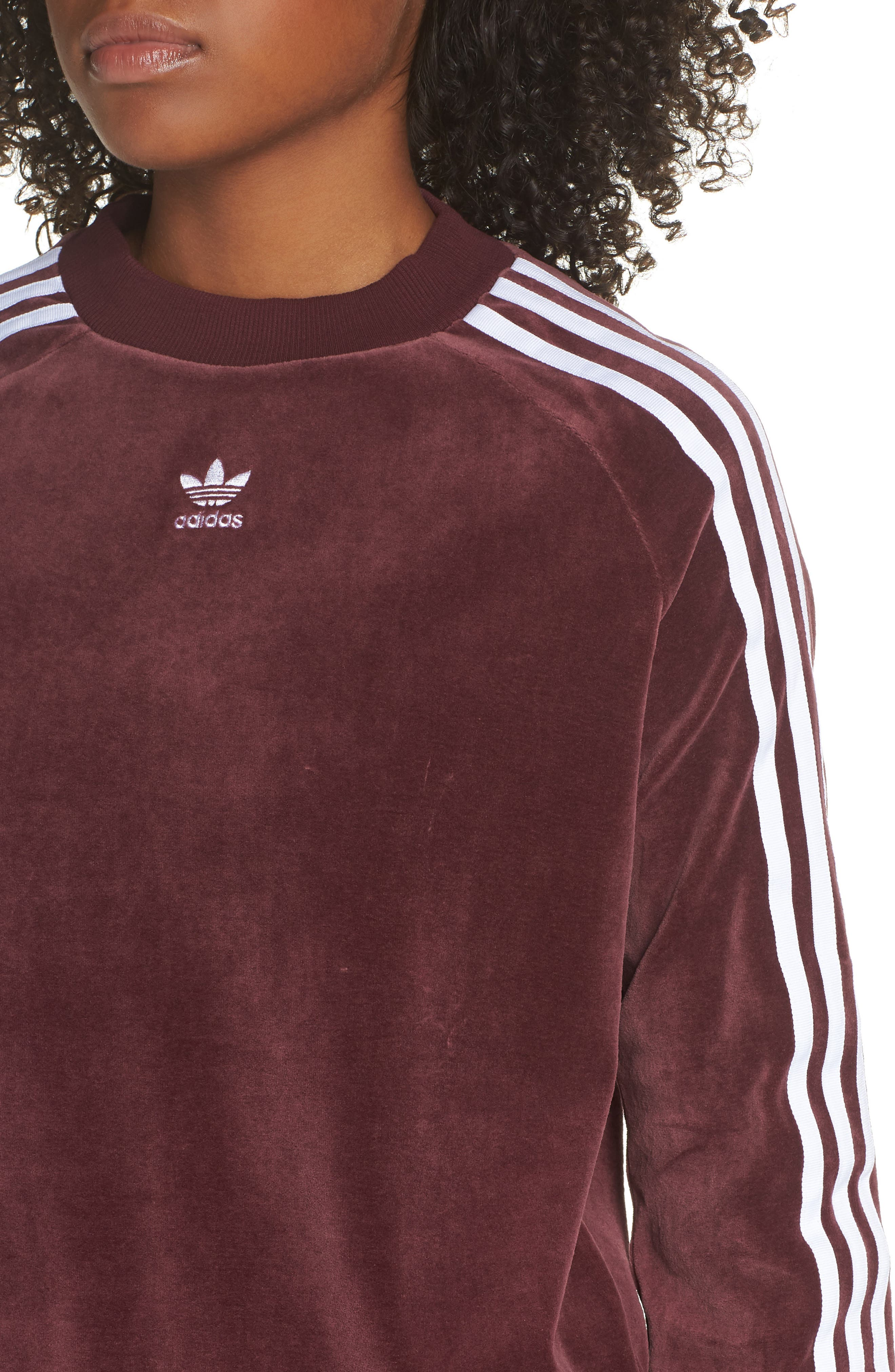 TRF Sweatshirt,                             Alternate thumbnail 4, color,                             MAROON