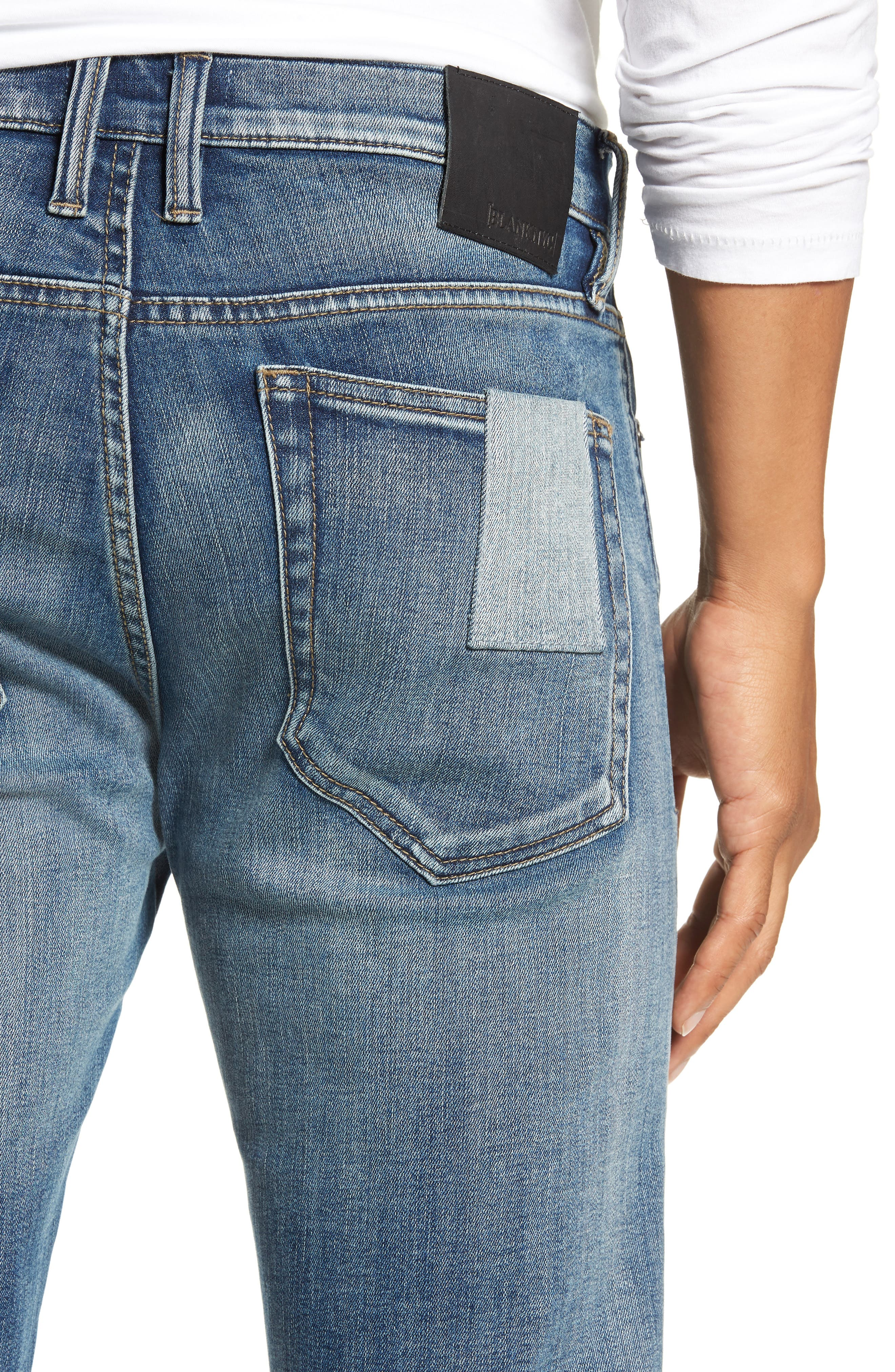 Stanton Straight Leg Jeans,                             Alternate thumbnail 4, color,                             COLD ONE
