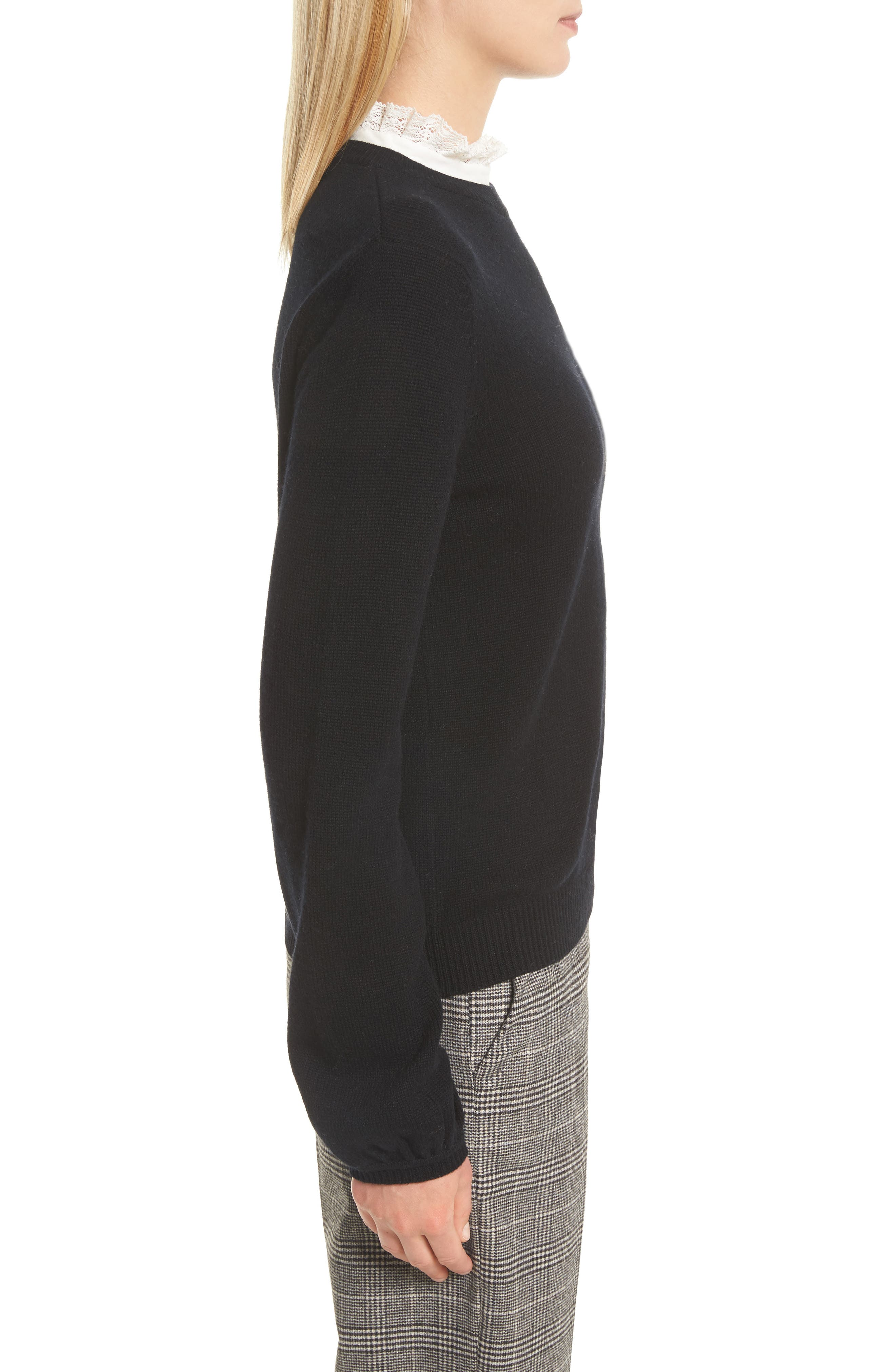 Affie Wool & Cashmere Sweater,                             Alternate thumbnail 5, color,