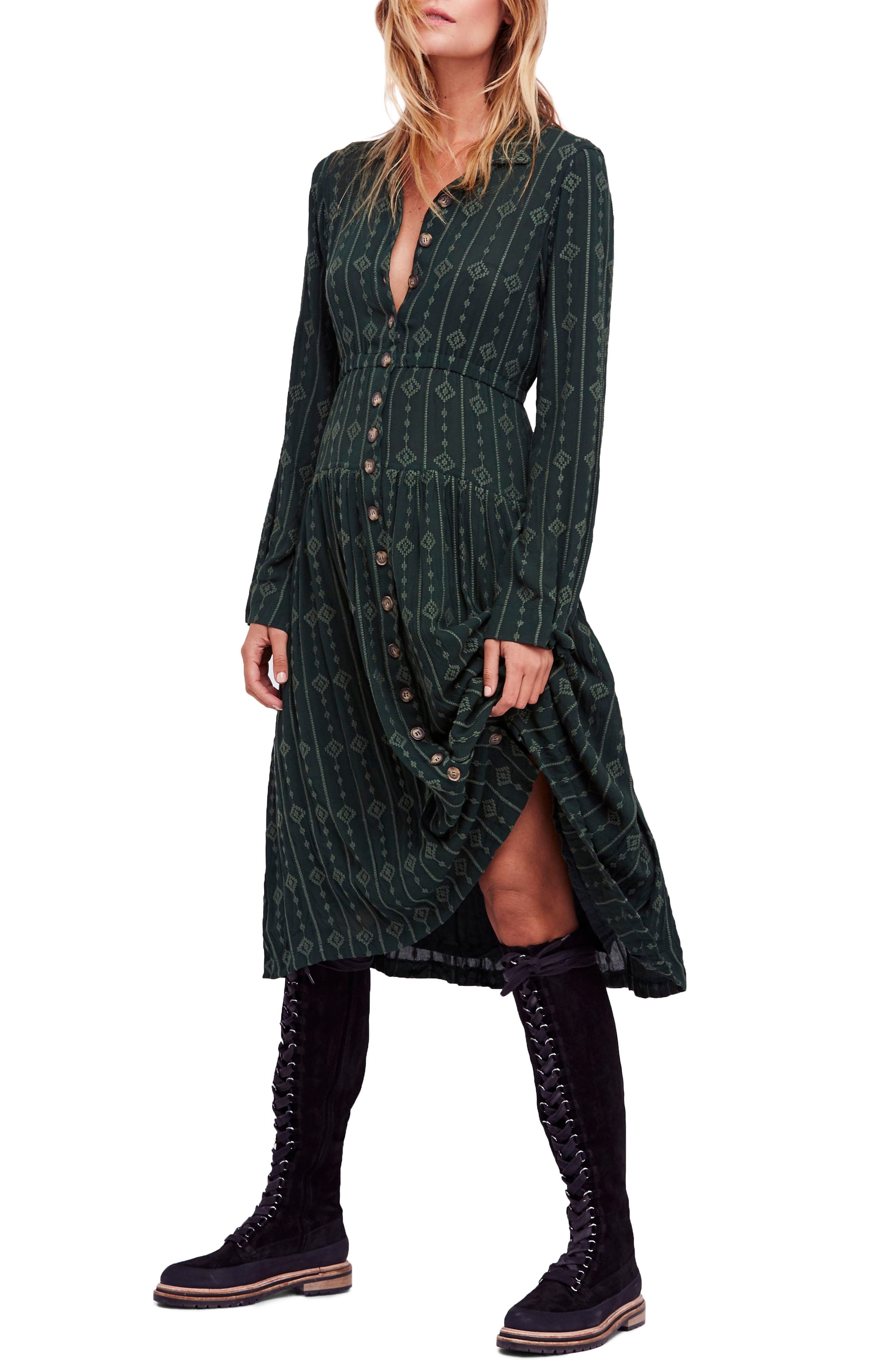 Diamond Head Midi Dress, Main, color, 301