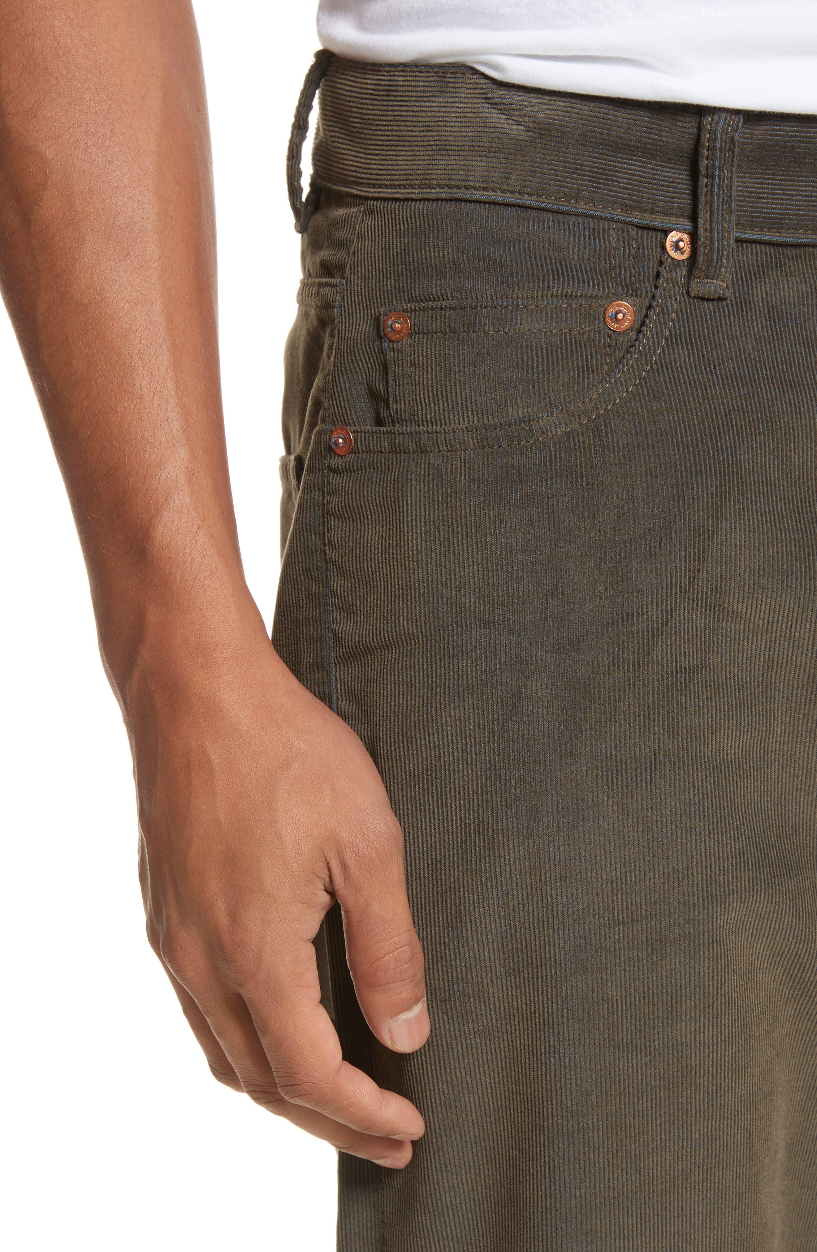 Second Cut Sludge Corduroy Pants,                             Alternate thumbnail 4, color,                             301