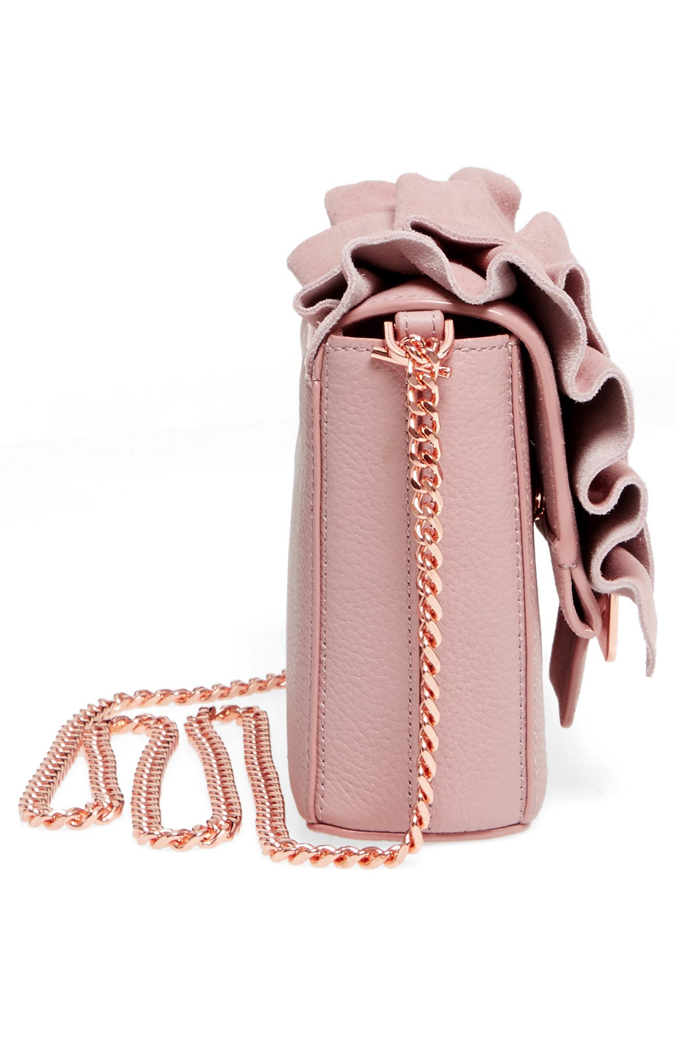 Nerinee Bow Buckle Clutch,                             Alternate thumbnail 15, color,