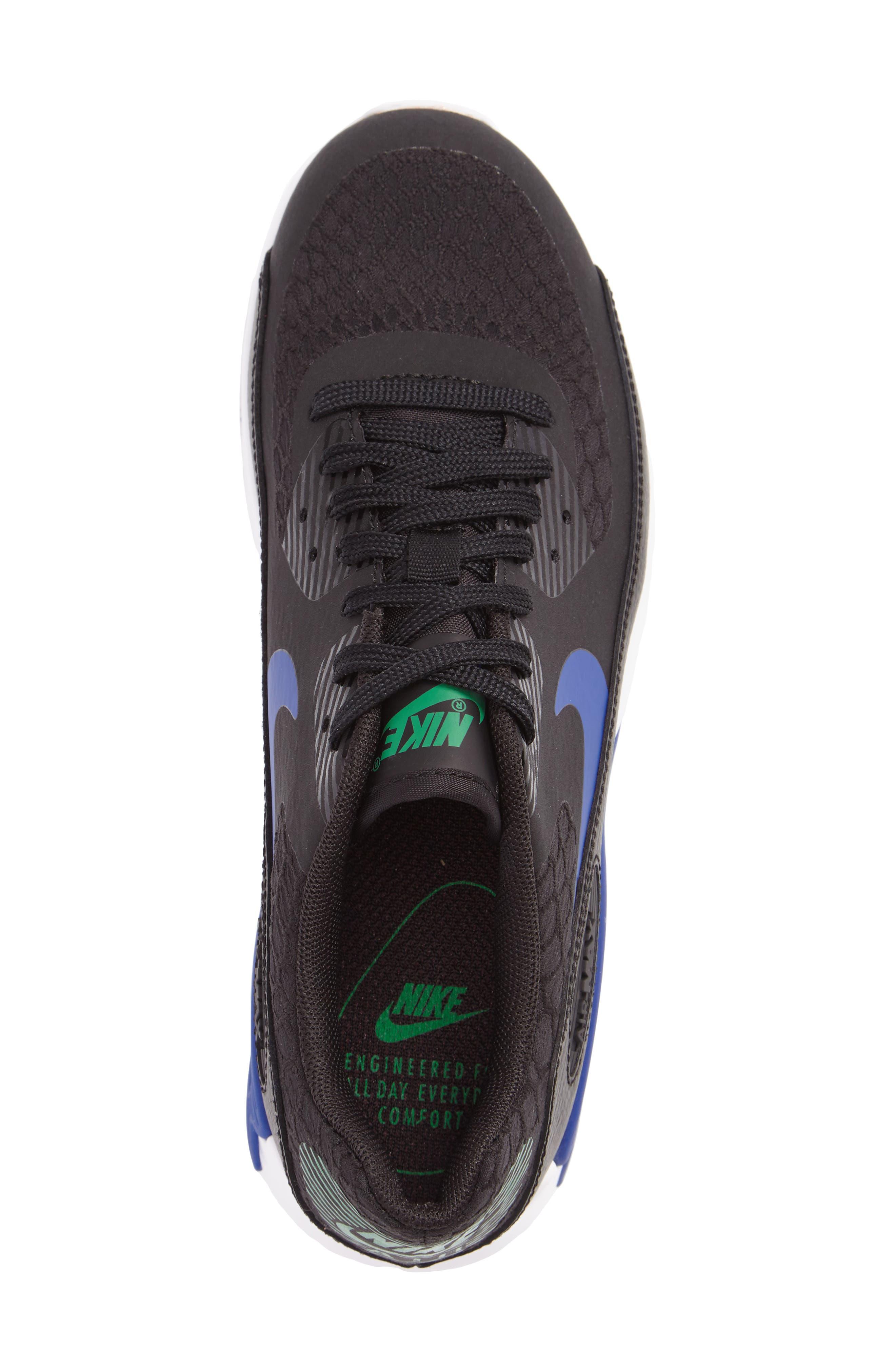 Air Max 90 Ultra 2.0 Sneaker,                             Alternate thumbnail 3, color,                             001