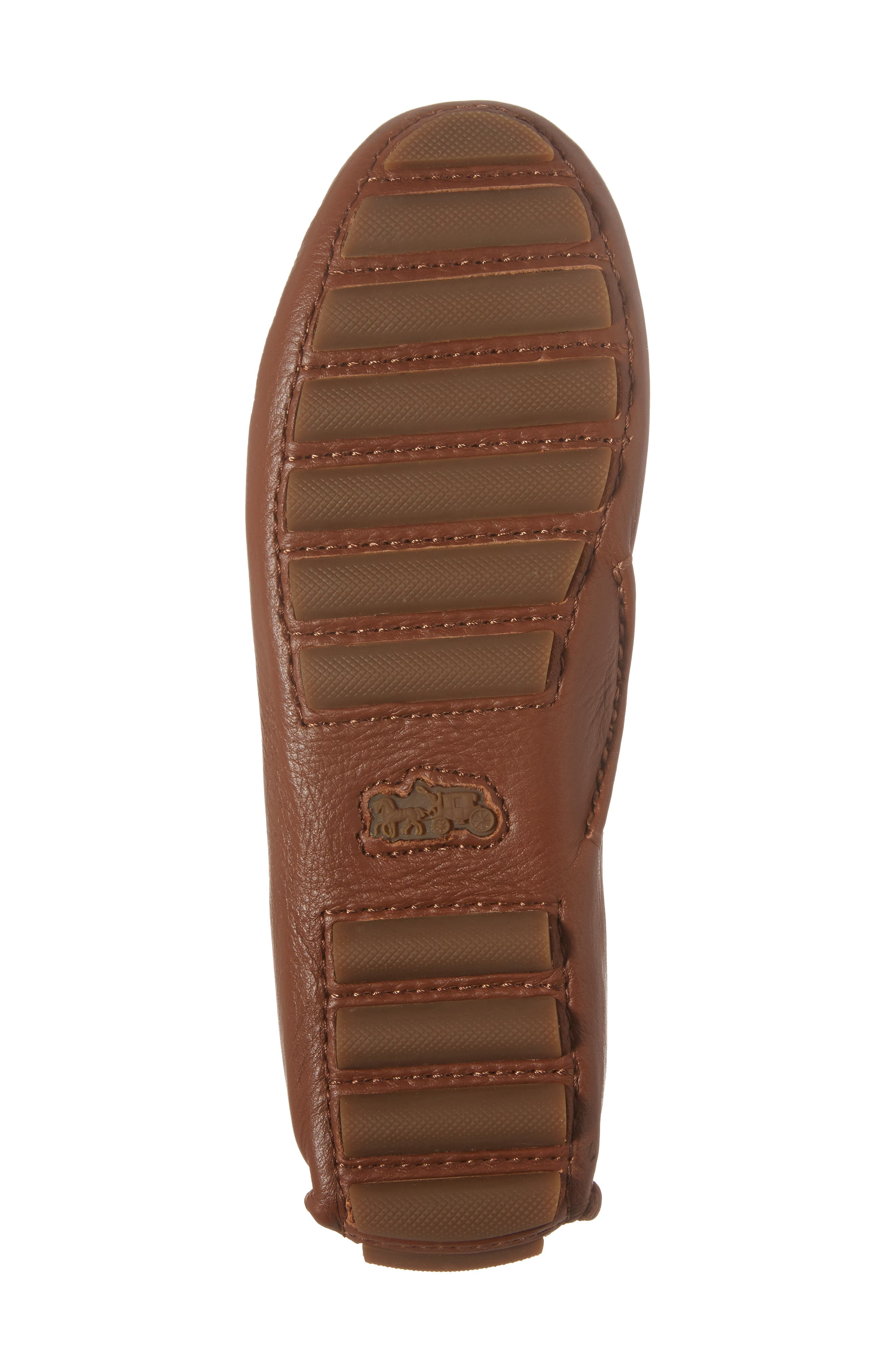 Crosby Driver Loafer,                             Alternate thumbnail 6, color,                             SADDLE LEATHER