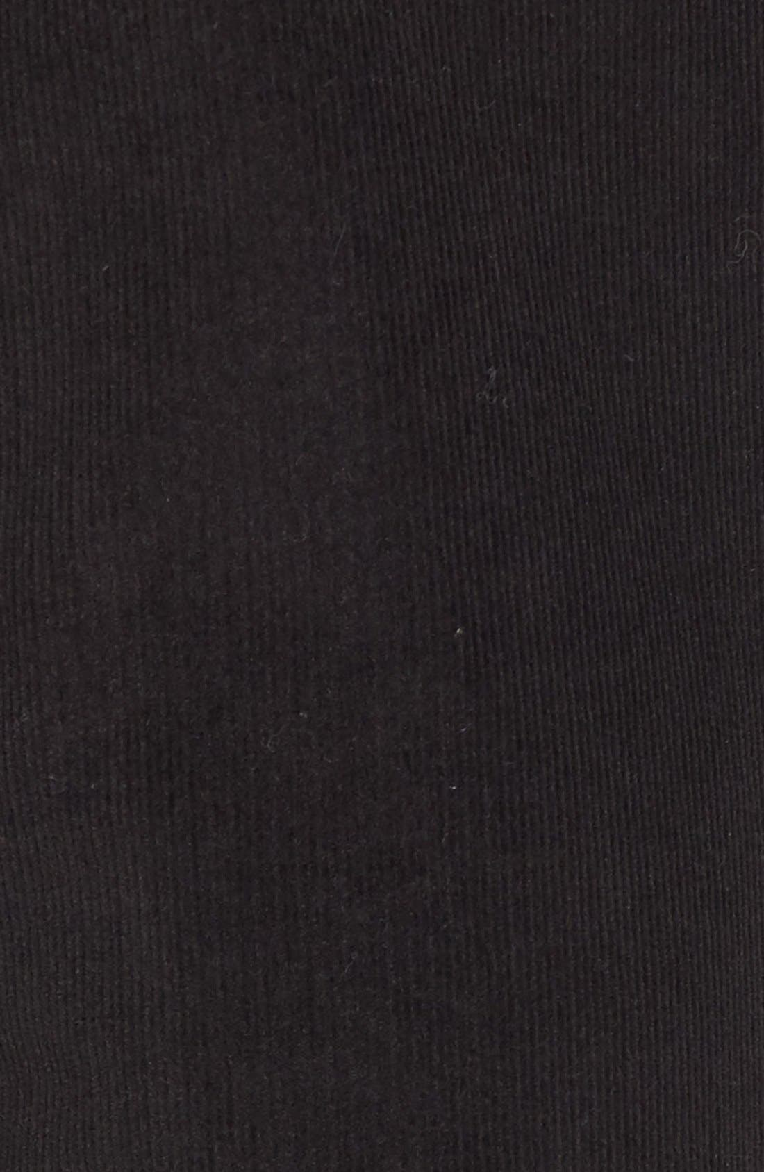 'Alina' Skinny Stretch Corduroy Pants,                             Alternate thumbnail 5, color,                             001