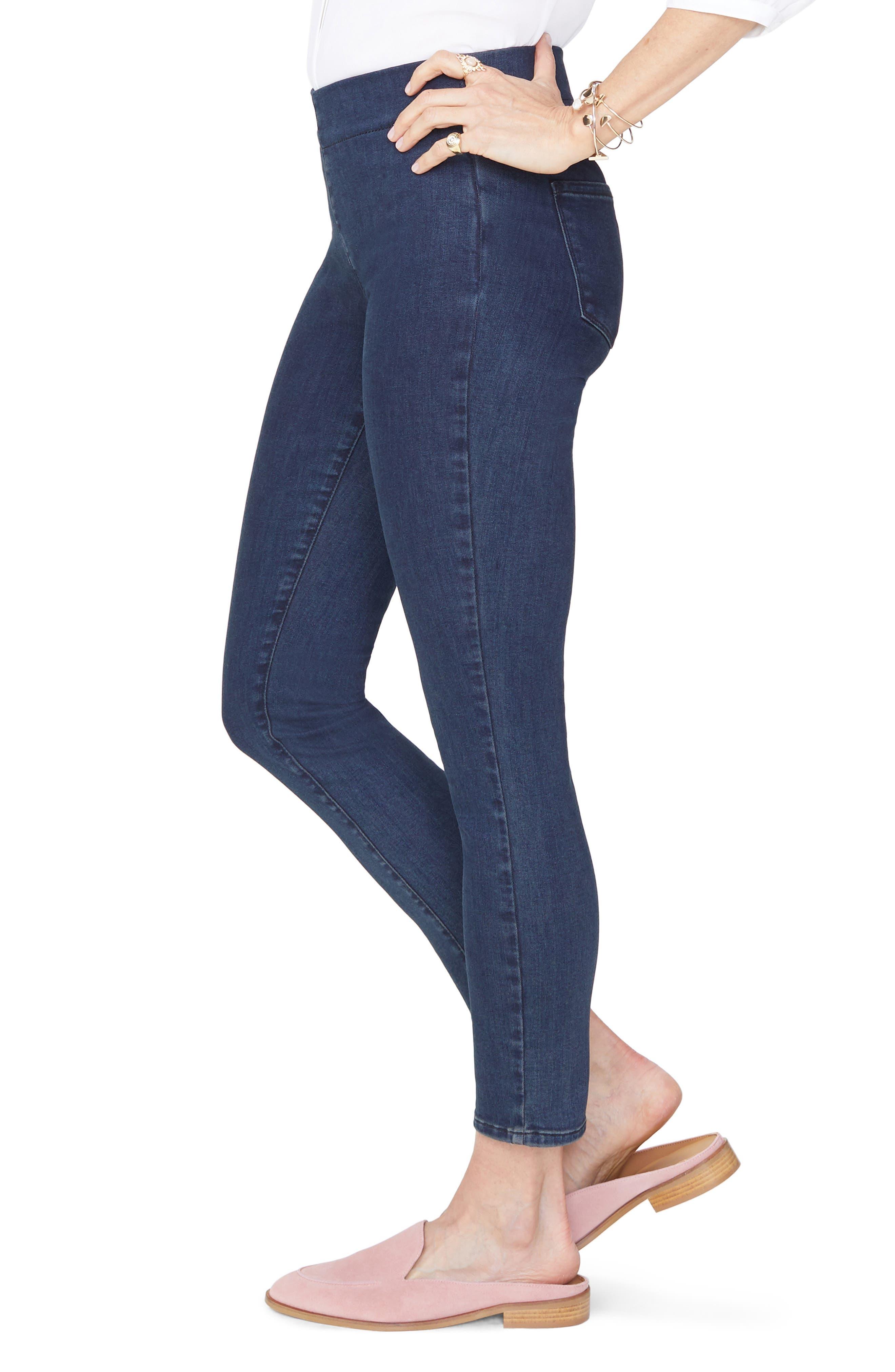 NYDJ,                             Pull-On Skinny Ankle Jeans,                             Alternate thumbnail 3, color,                             405