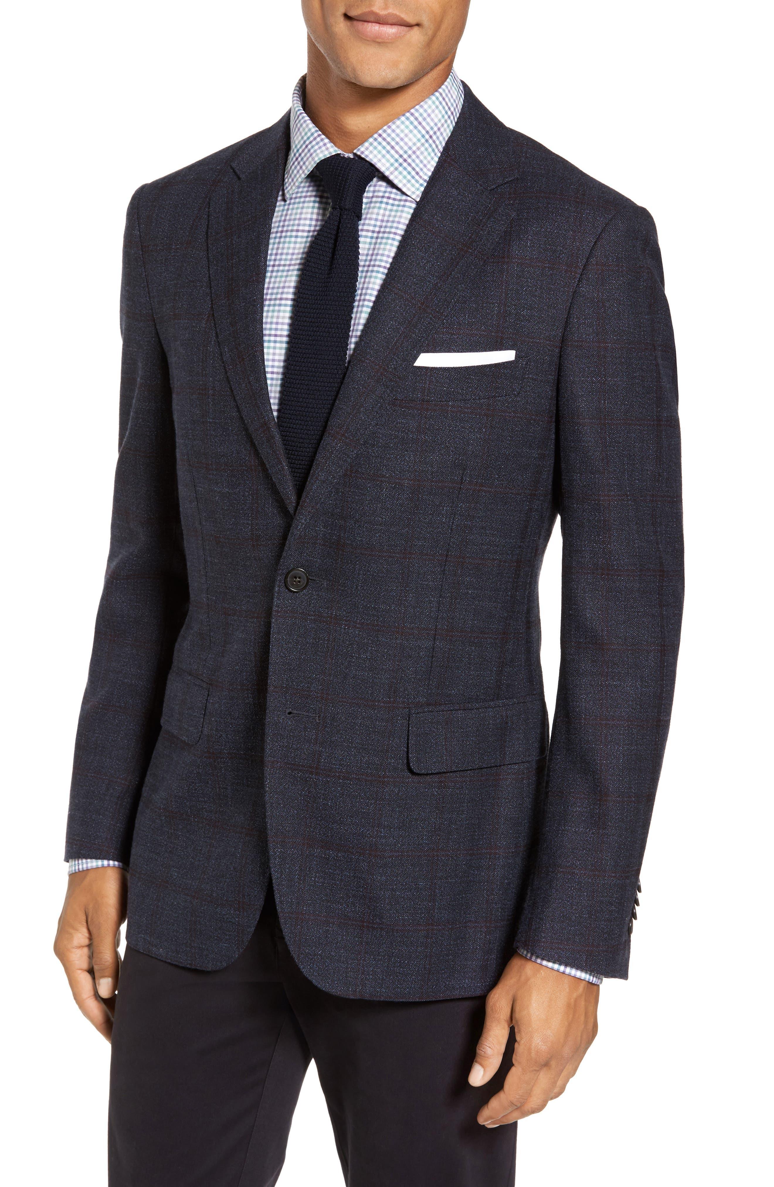 Glenside Wool Blend Sport Coat,                         Main,                         color, 411