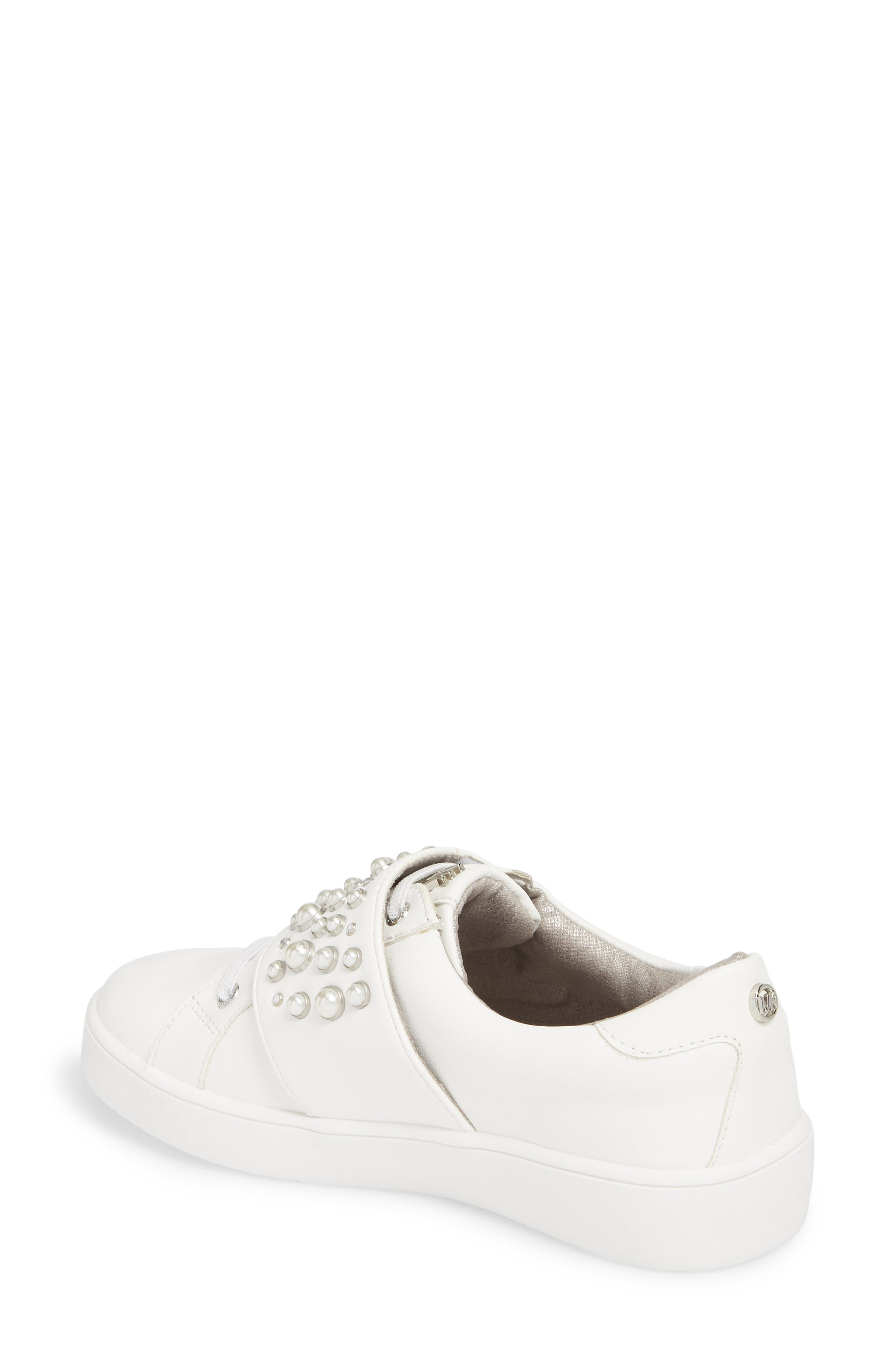 Ivy Embellished Metallic Sneaker,                             Alternate thumbnail 2, color,                             100