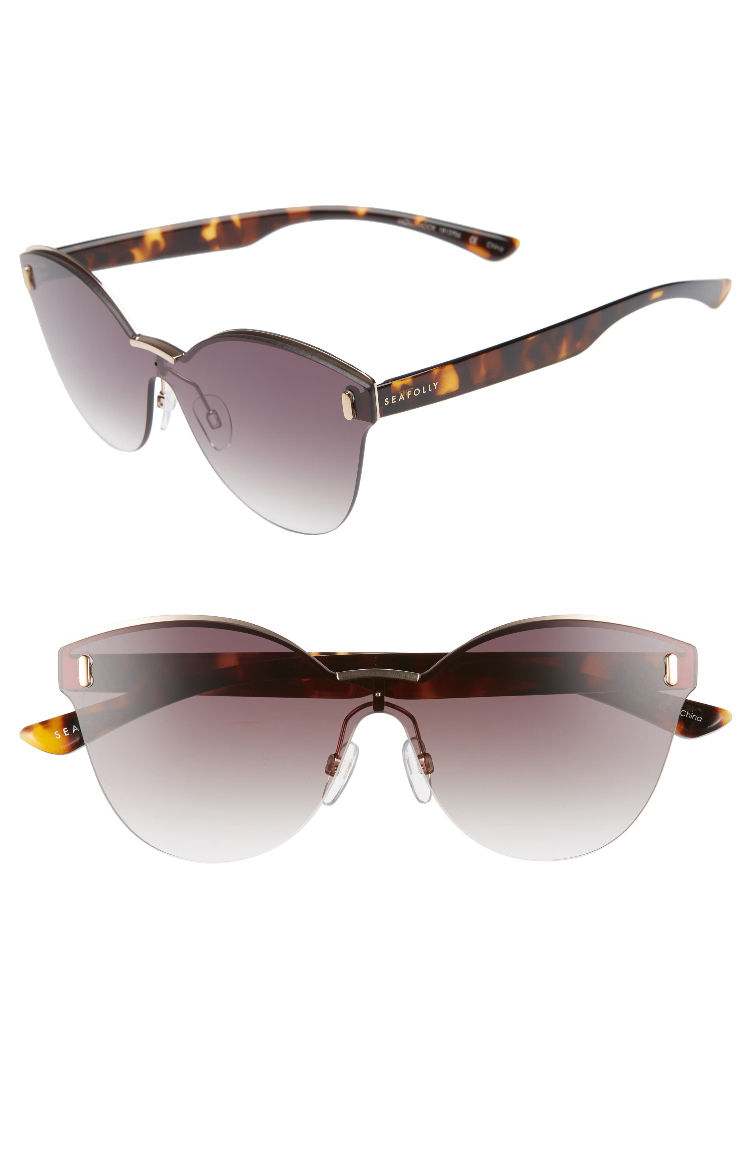 Mollymock 66mm Cat Eye Sunglasses by Seafolly