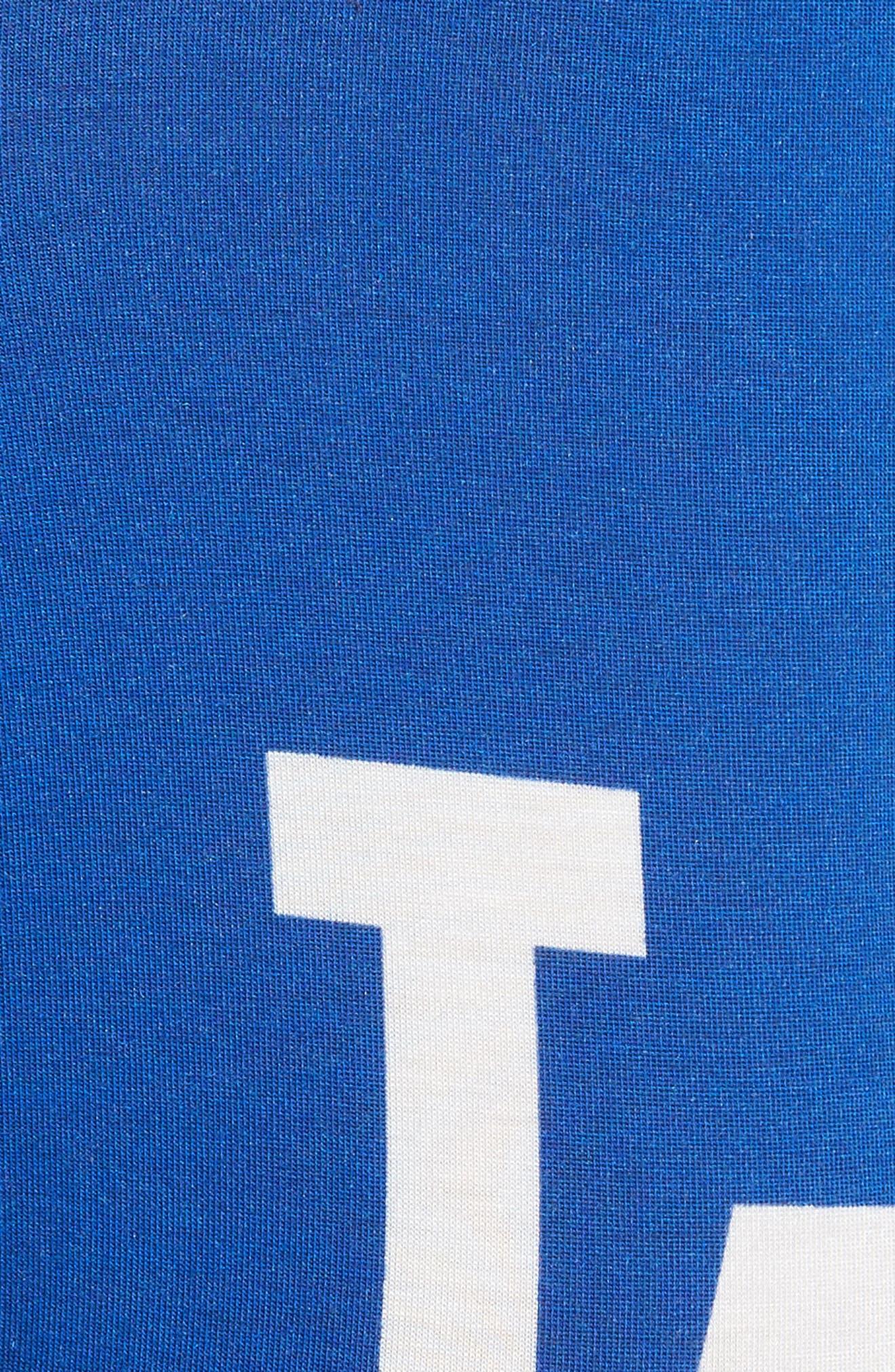 Dodgers Tie Dye Stretch Modal Boxer Briefs,                             Alternate thumbnail 4, color,                             420