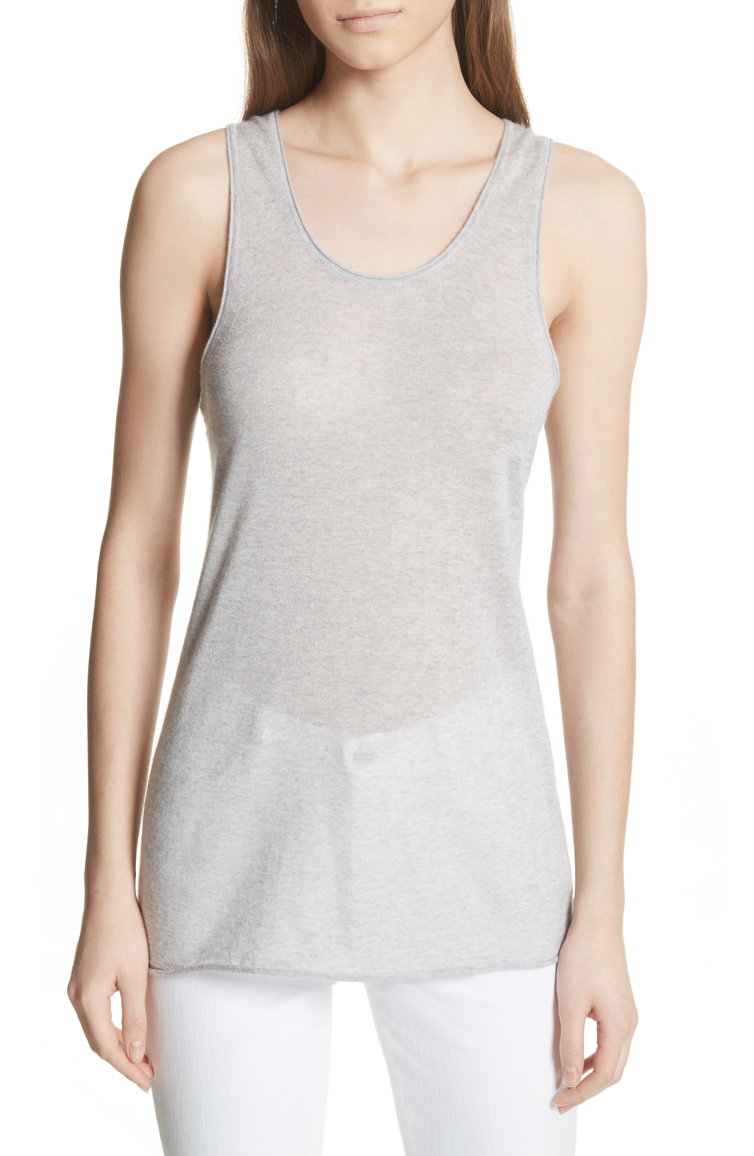 Featherweight Cashmere Tank,                             Main thumbnail 1, color,                             093