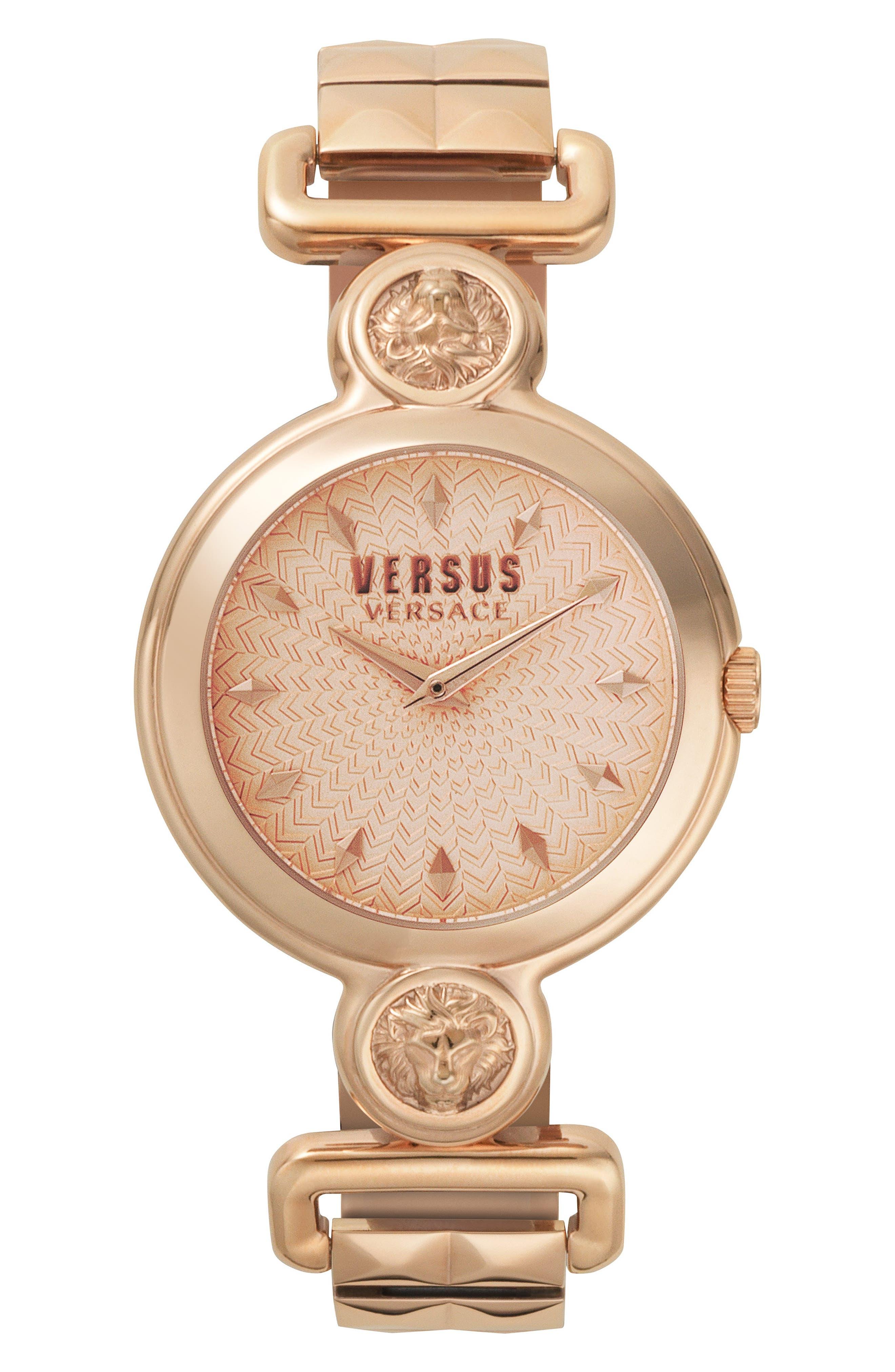 VERSUS by Versace Sunnyridge Bracelet Watch, 34mm,                             Main thumbnail 3, color,
