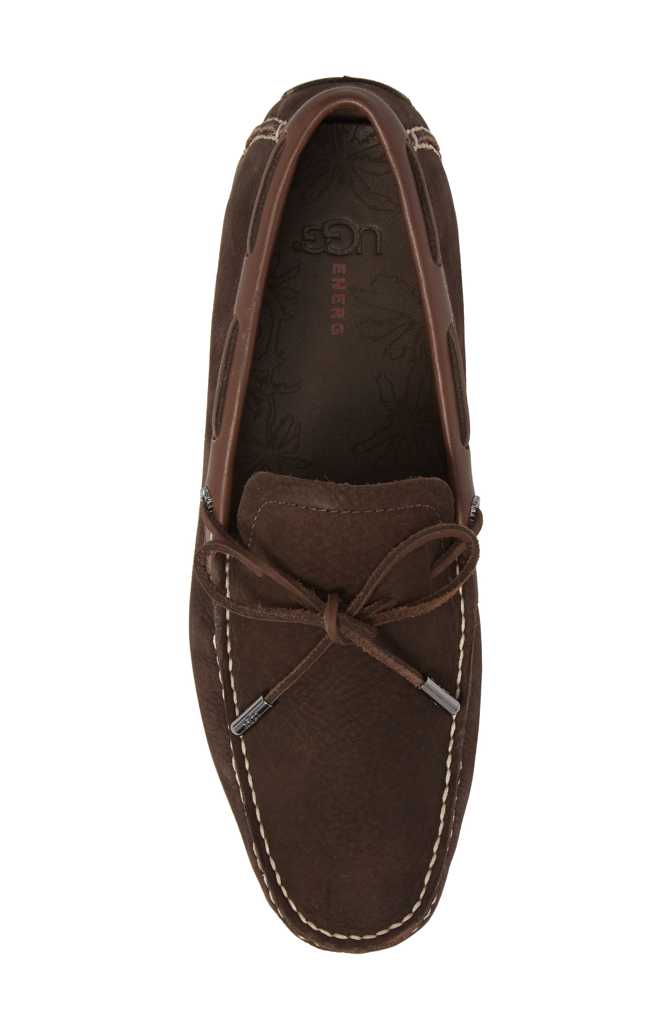 Bel Air Driving Moccasin,                             Alternate thumbnail 5, color,                             STOUT LEATHER
