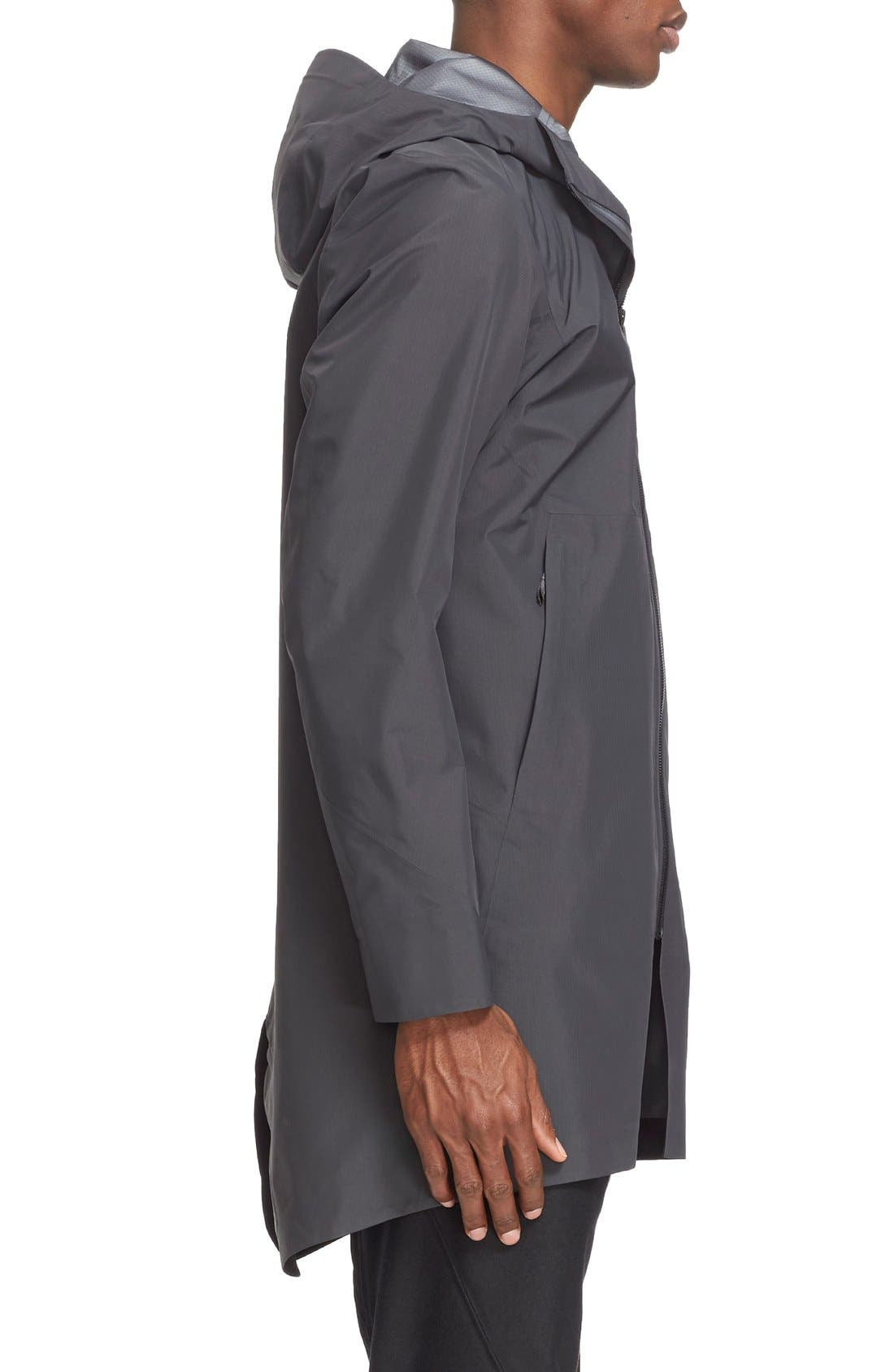 'Monitor' Gore-Tex<sup>®</sup> Pro Packable Hooded Jacket,                             Alternate thumbnail 5, color,                             020