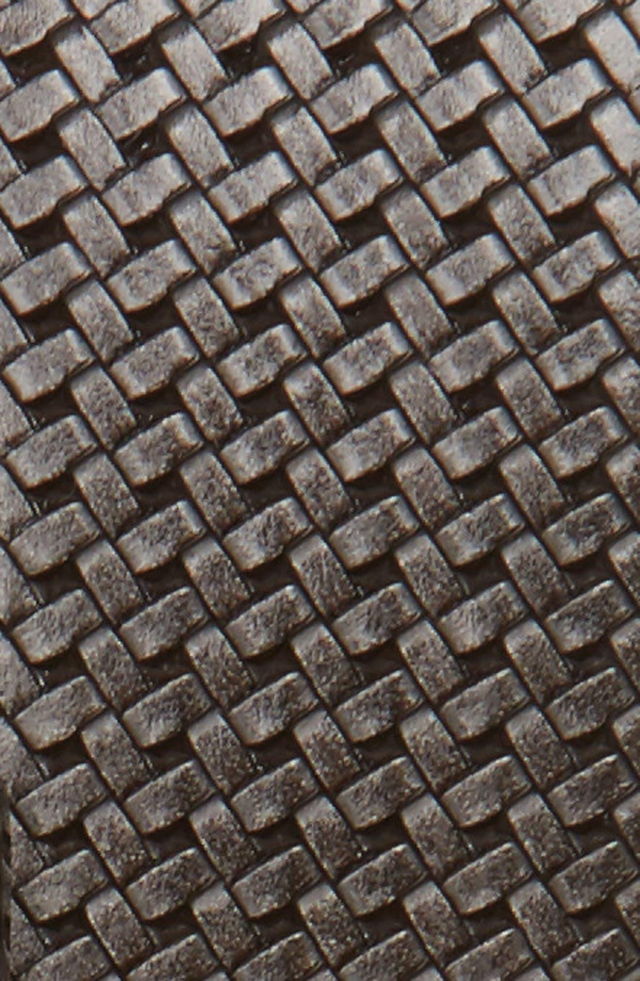 Reversible Leather Belt,                             Alternate thumbnail 3, color,                             020
