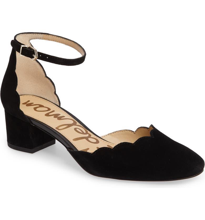 2e124288ea310 Sam Edelman Lara Ankle Strap Pump (Women)