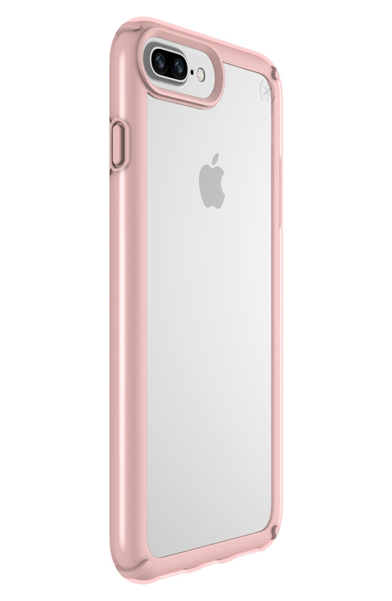 iPhone 6/6s/7/8 Plus Case,                             Alternate thumbnail 6, color,                             CLEAR/ ROSE GOLD