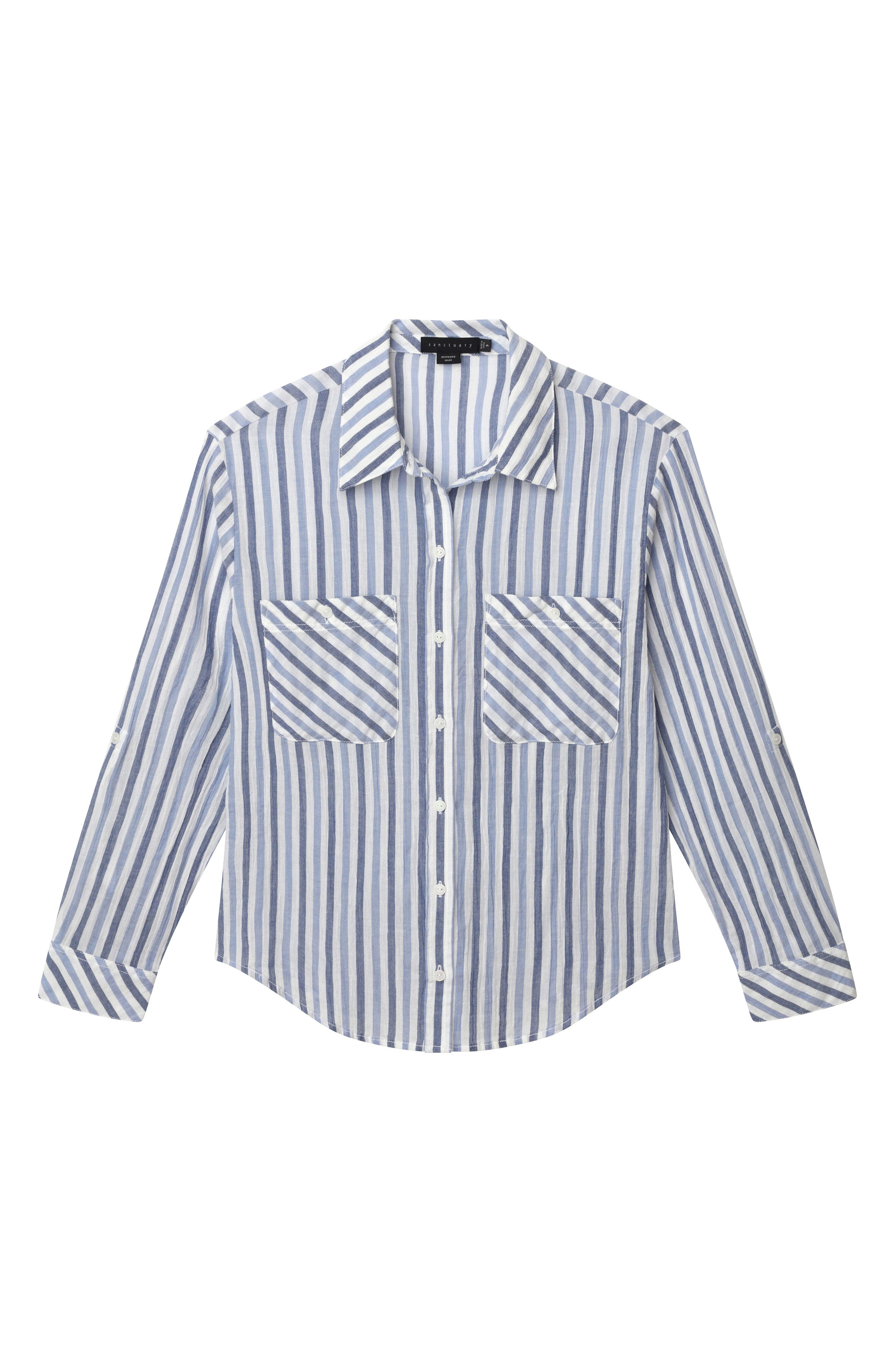The Steady Boyfriend Shirt,                             Alternate thumbnail 4, color,                             401