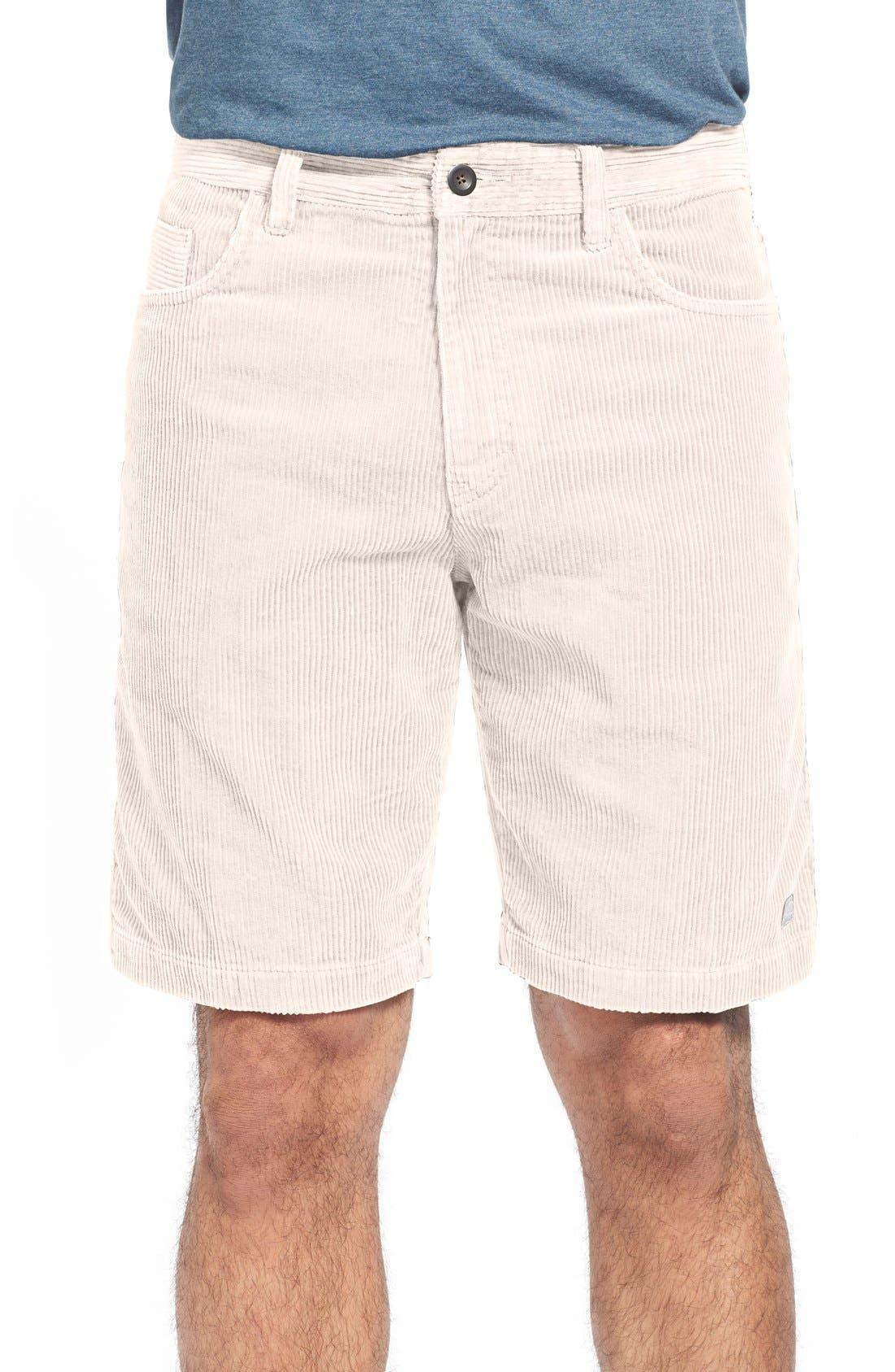 Kordo Corduroy Walking Shorts,                             Main thumbnail 4, color,