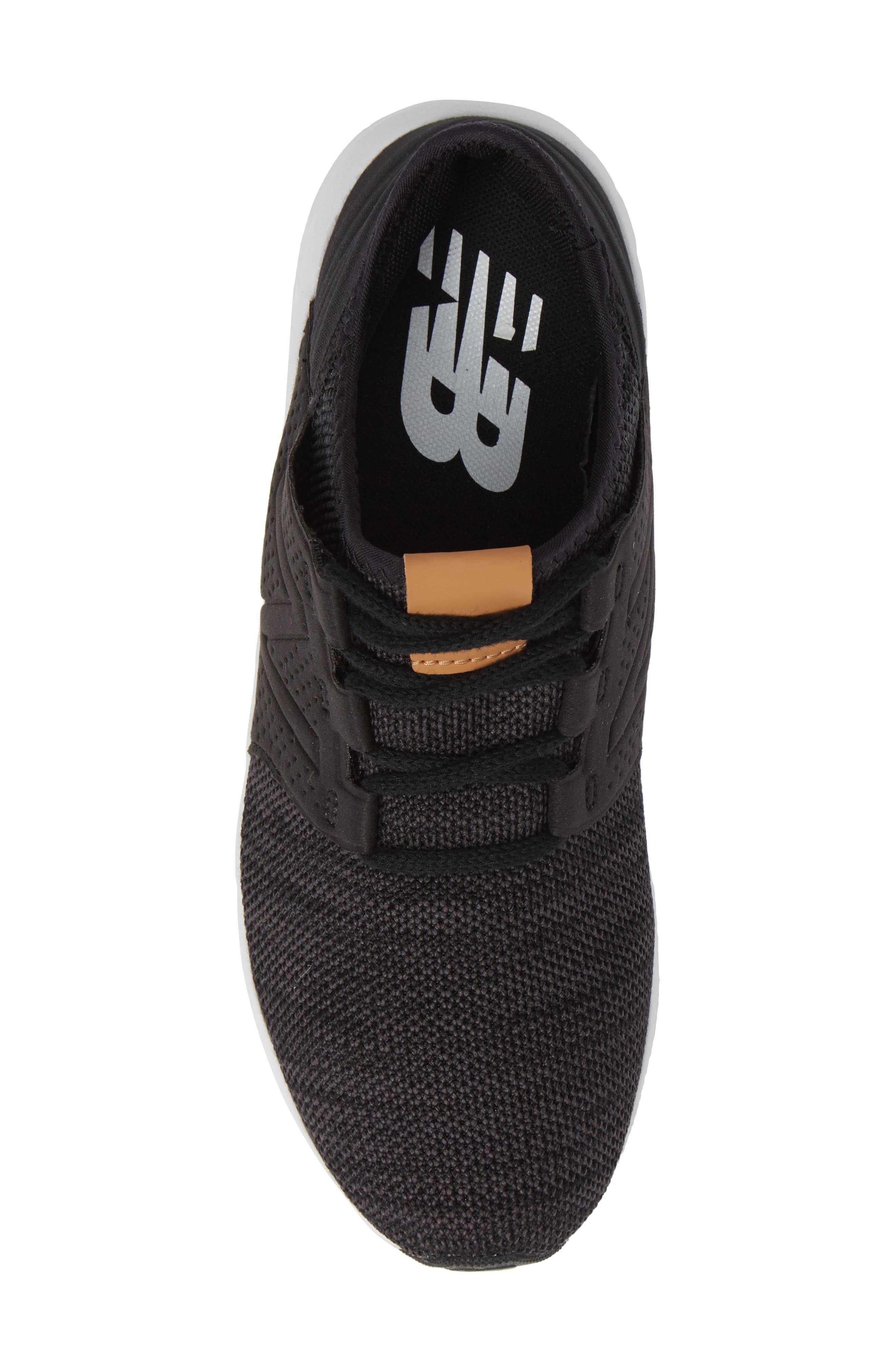 Cruz V2 Sport Sneaker,                             Alternate thumbnail 5, color,                             BLACK/ MAGNET