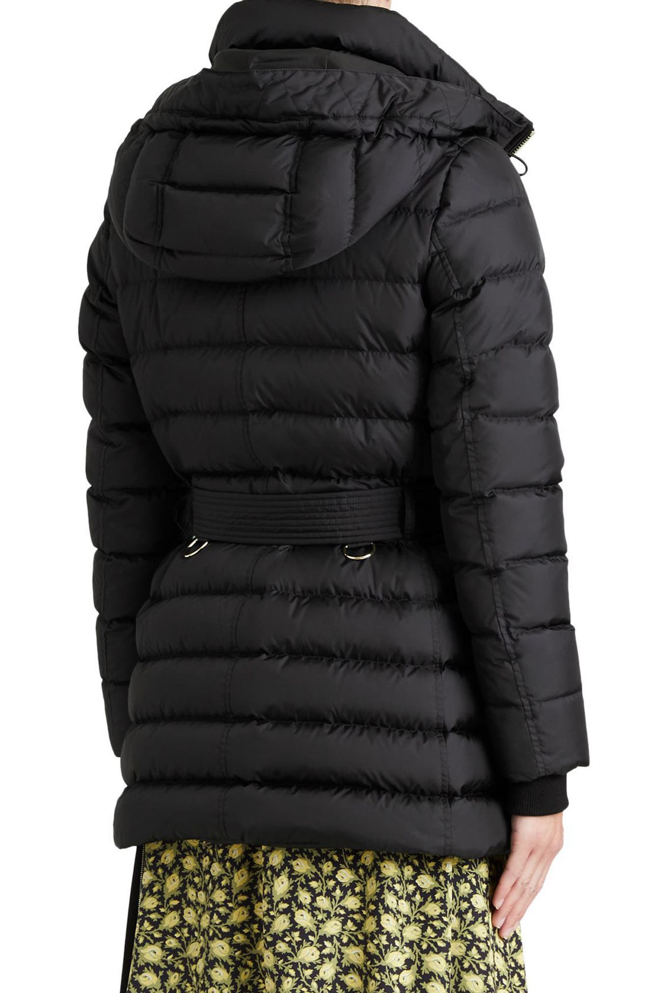 Limefield Hooded Puffer Coat,                             Alternate thumbnail 2, color,                             001