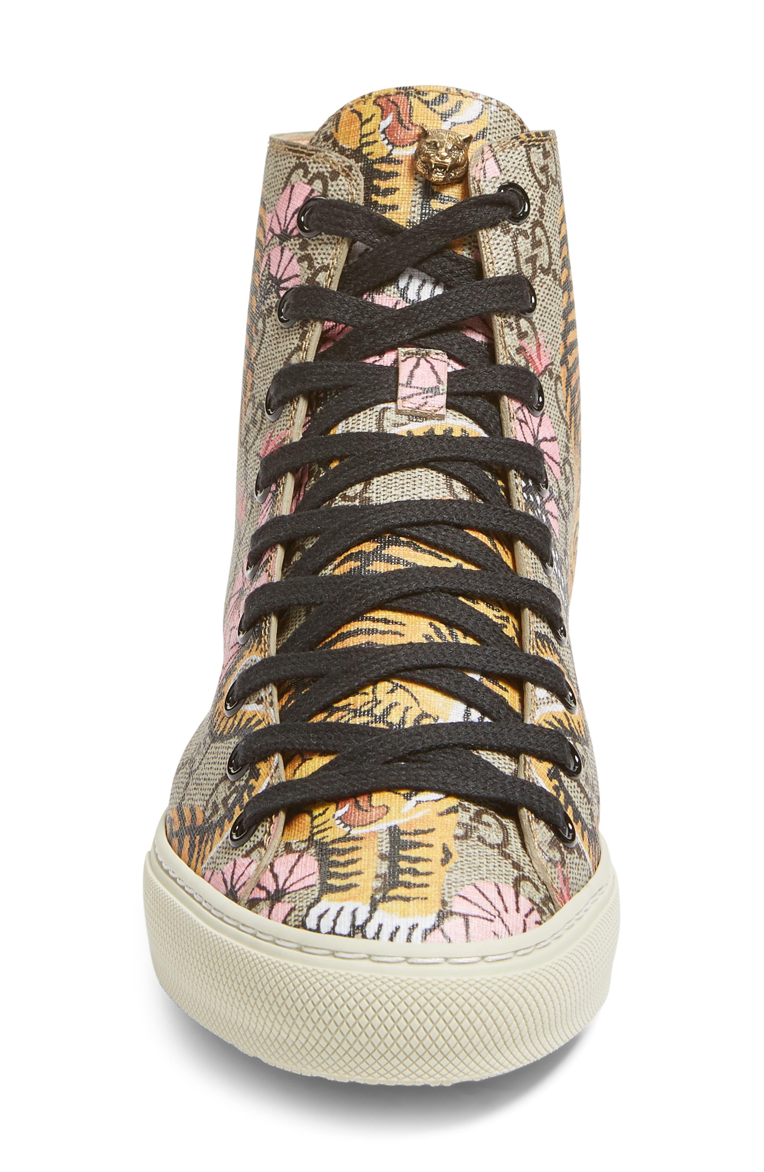 Major Tiger High Top Sneaker,                             Alternate thumbnail 5, color,