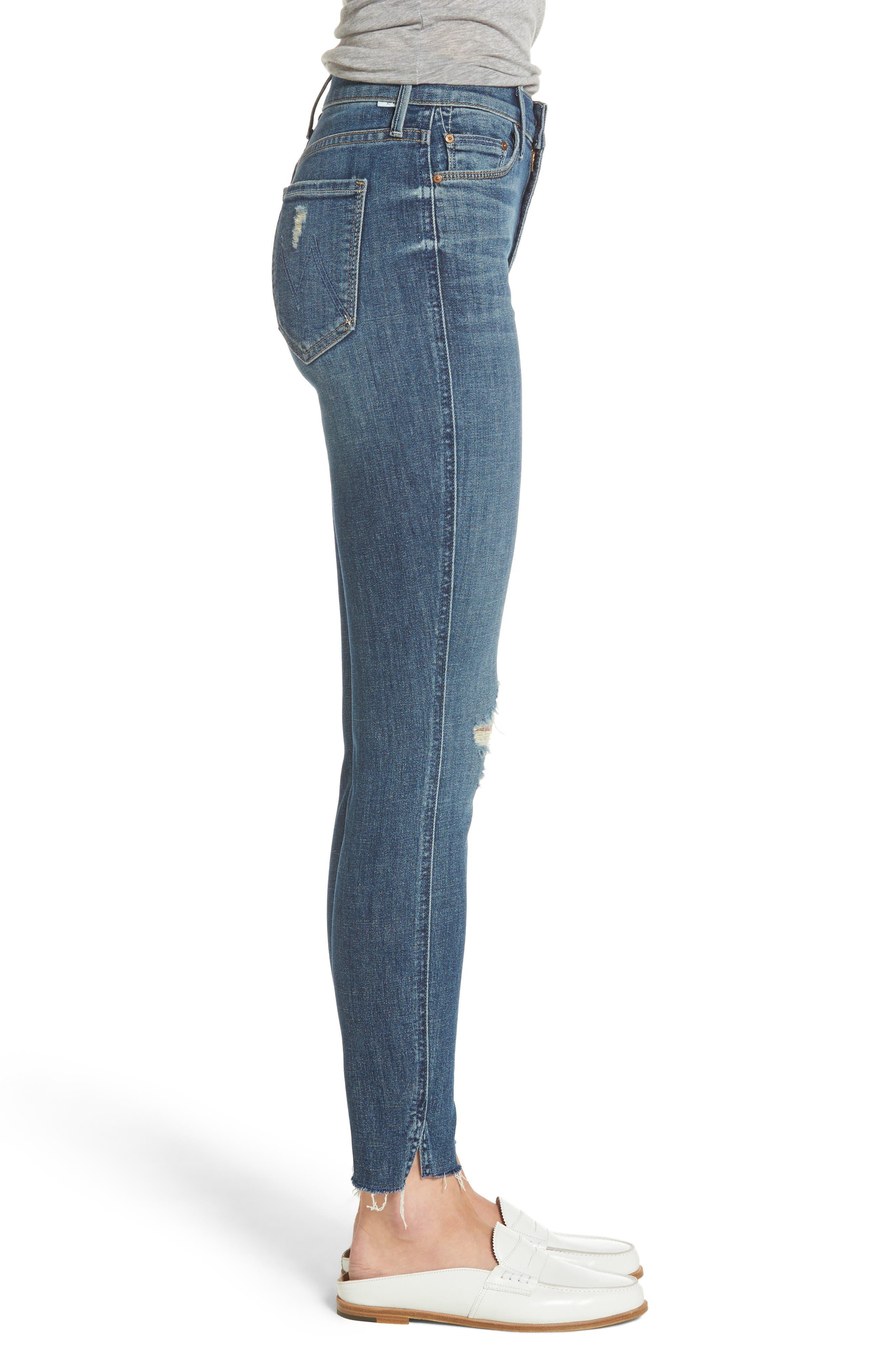 The Vamp Crop Skinny Jeans,                             Alternate thumbnail 3, color,                             419