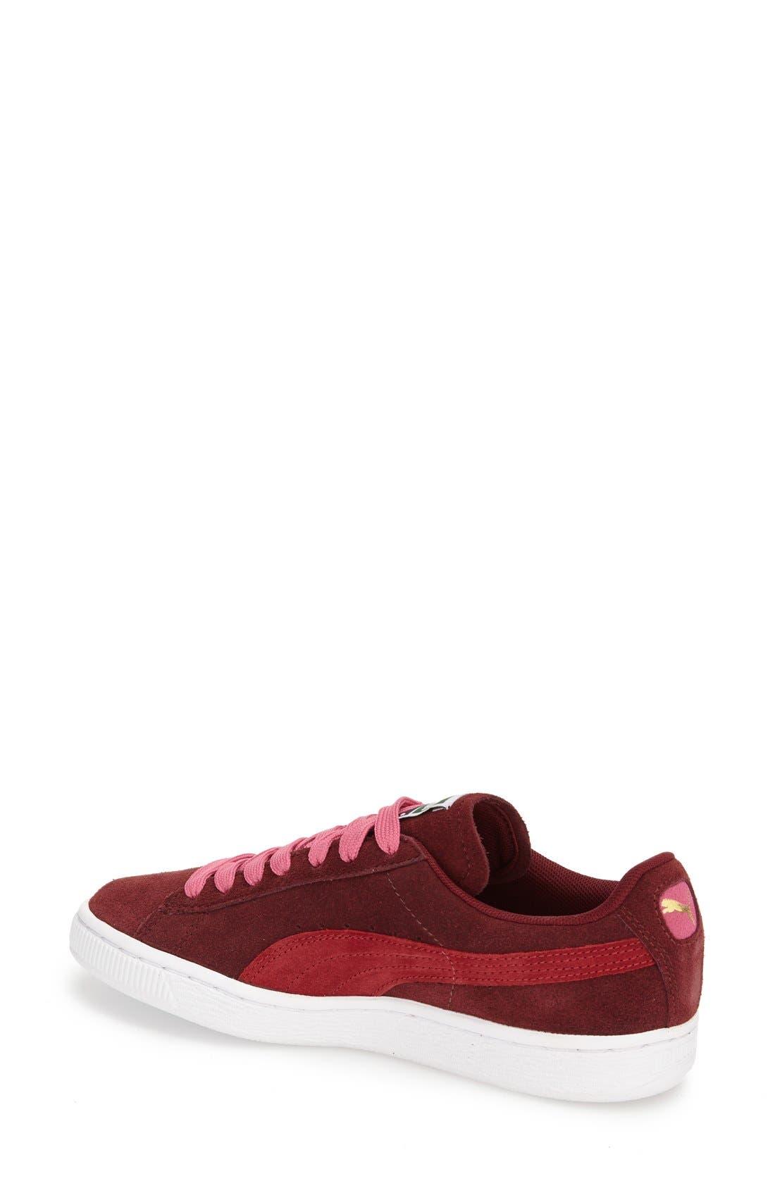 Suede Sneaker,                             Alternate thumbnail 51, color,
