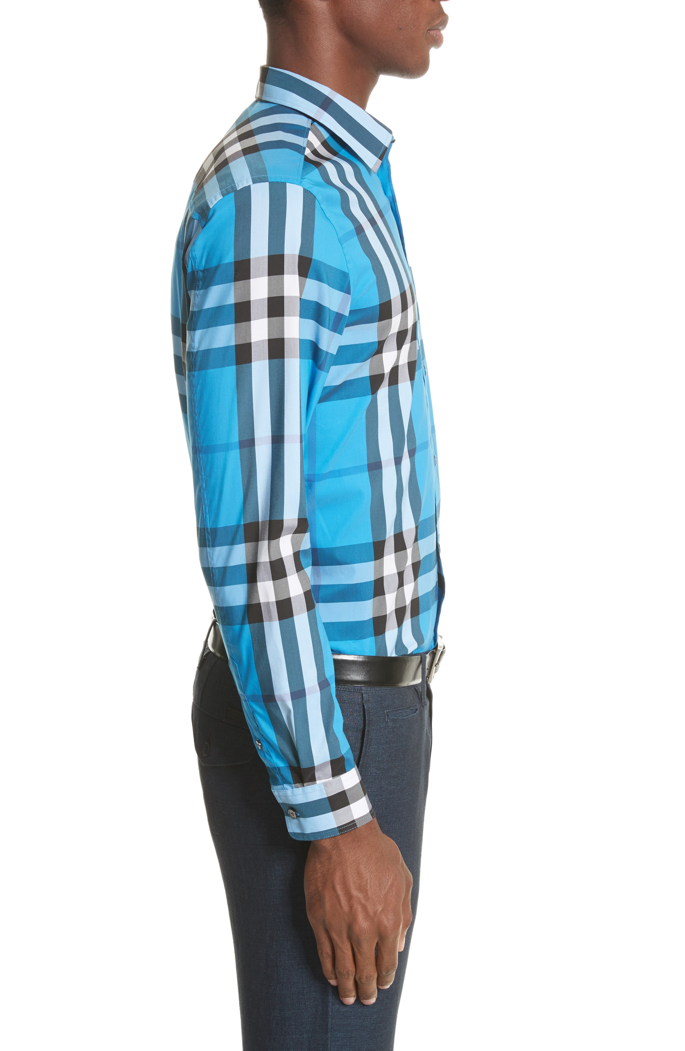 Nelson Check Sport Shirt,                             Alternate thumbnail 68, color,