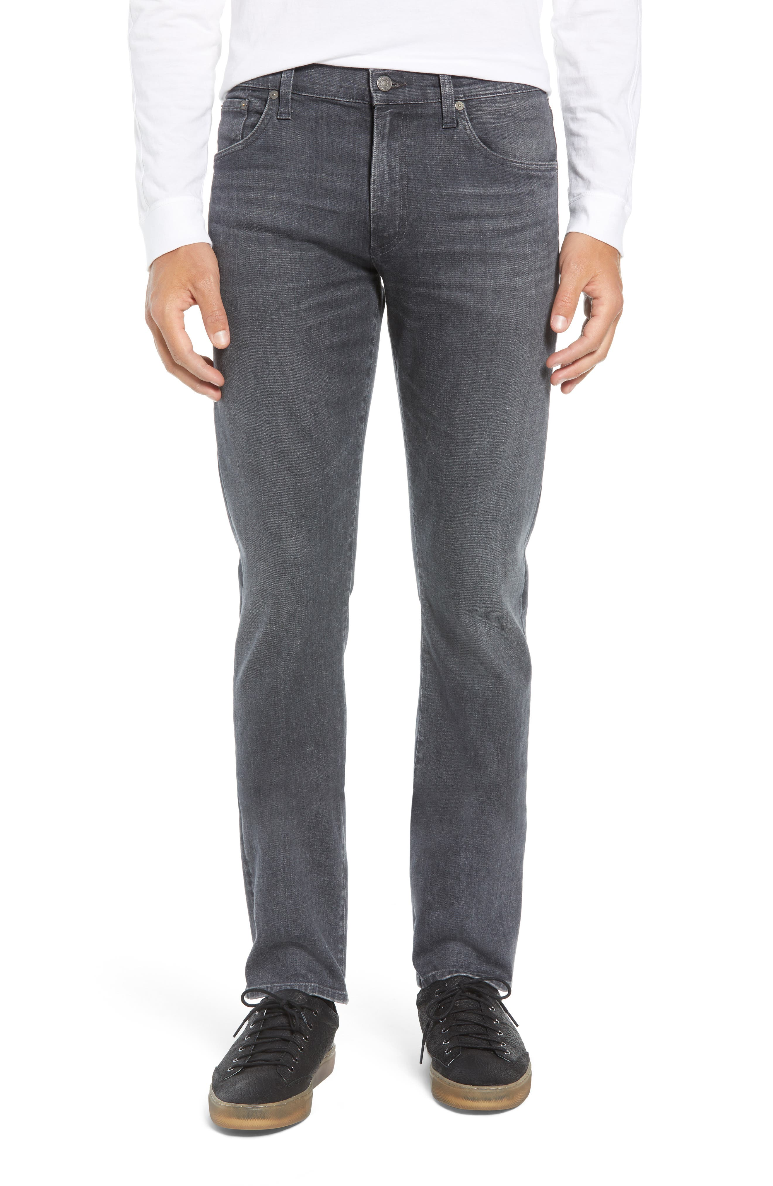 Gage Slim Straight Leg Jeans,                         Main,                         color, FORTIER