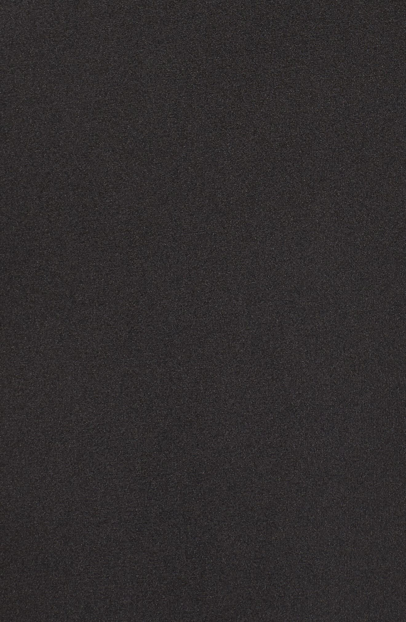 Femme Fatale Slip Dress,                             Alternate thumbnail 5, color,                             001