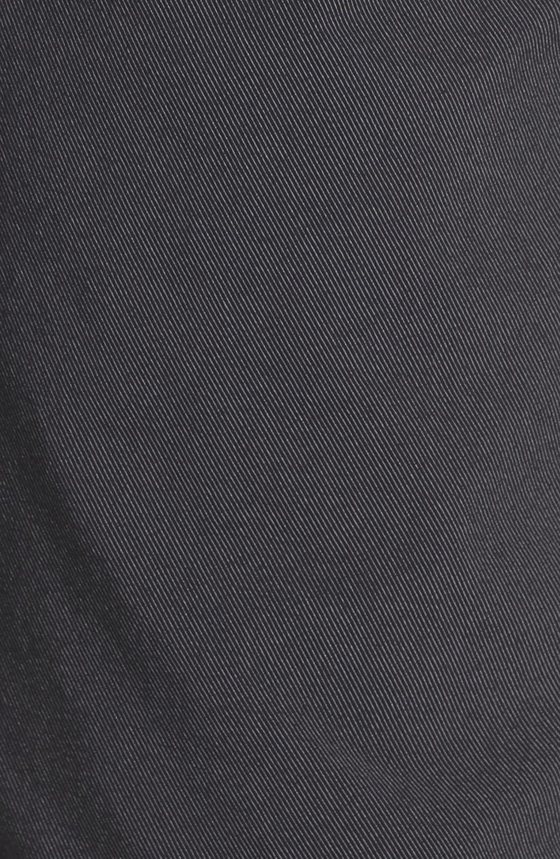 'Hefner' Stretch Golf Shorts,                             Alternate thumbnail 3, color,                             BLACK