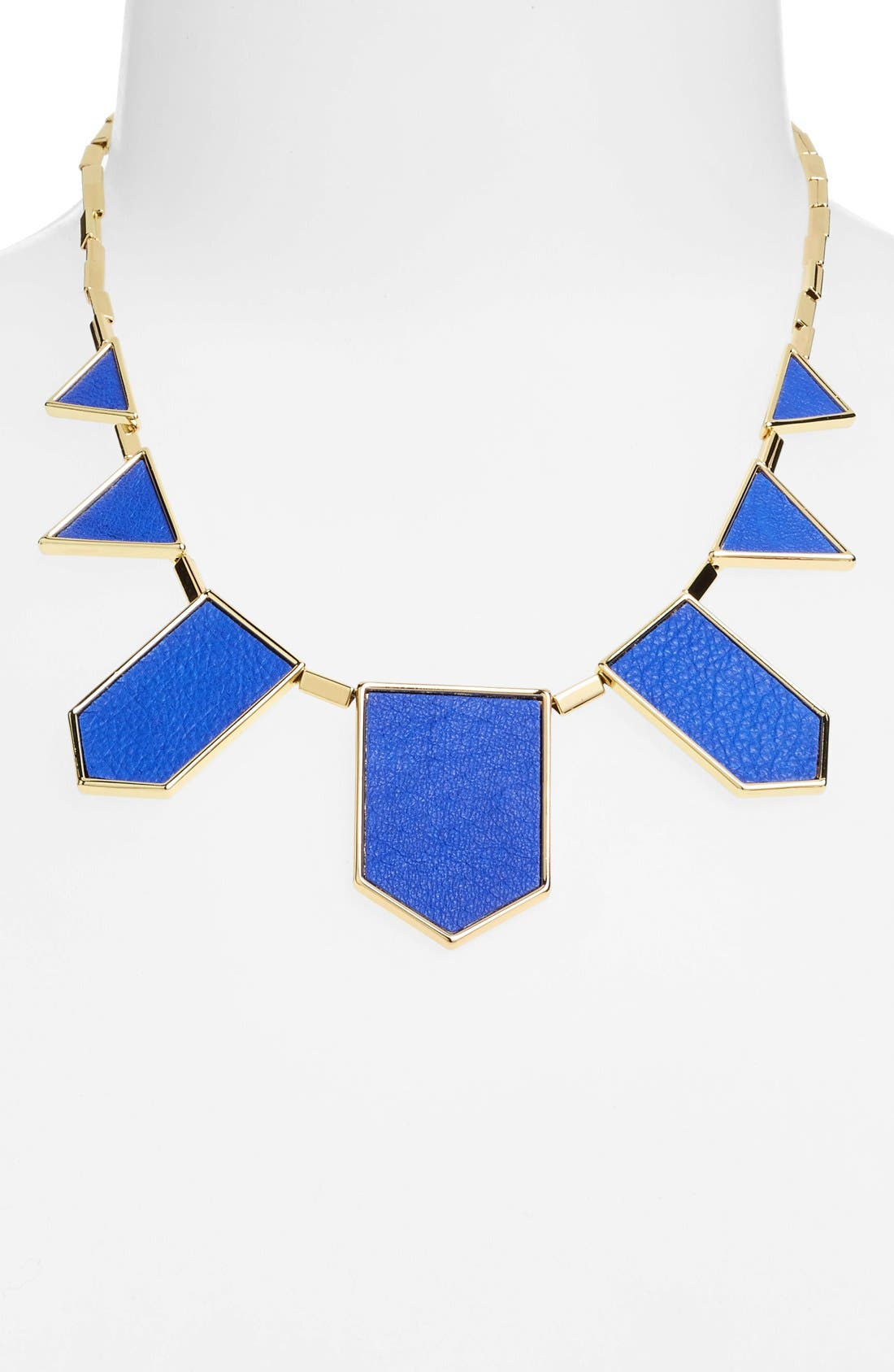 Leather Station Necklace,                             Alternate thumbnail 23, color,