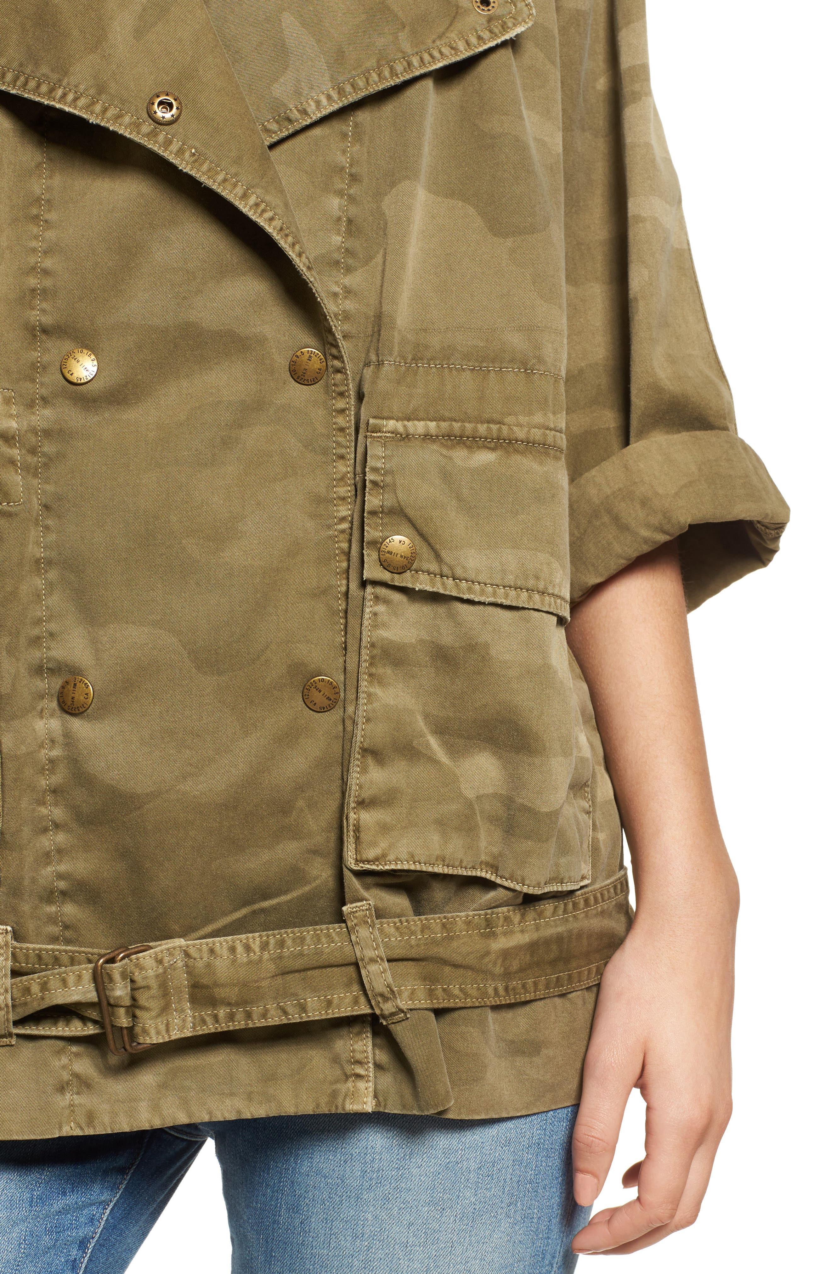 The Infantry Military Jacket,                             Alternate thumbnail 4, color,                             314