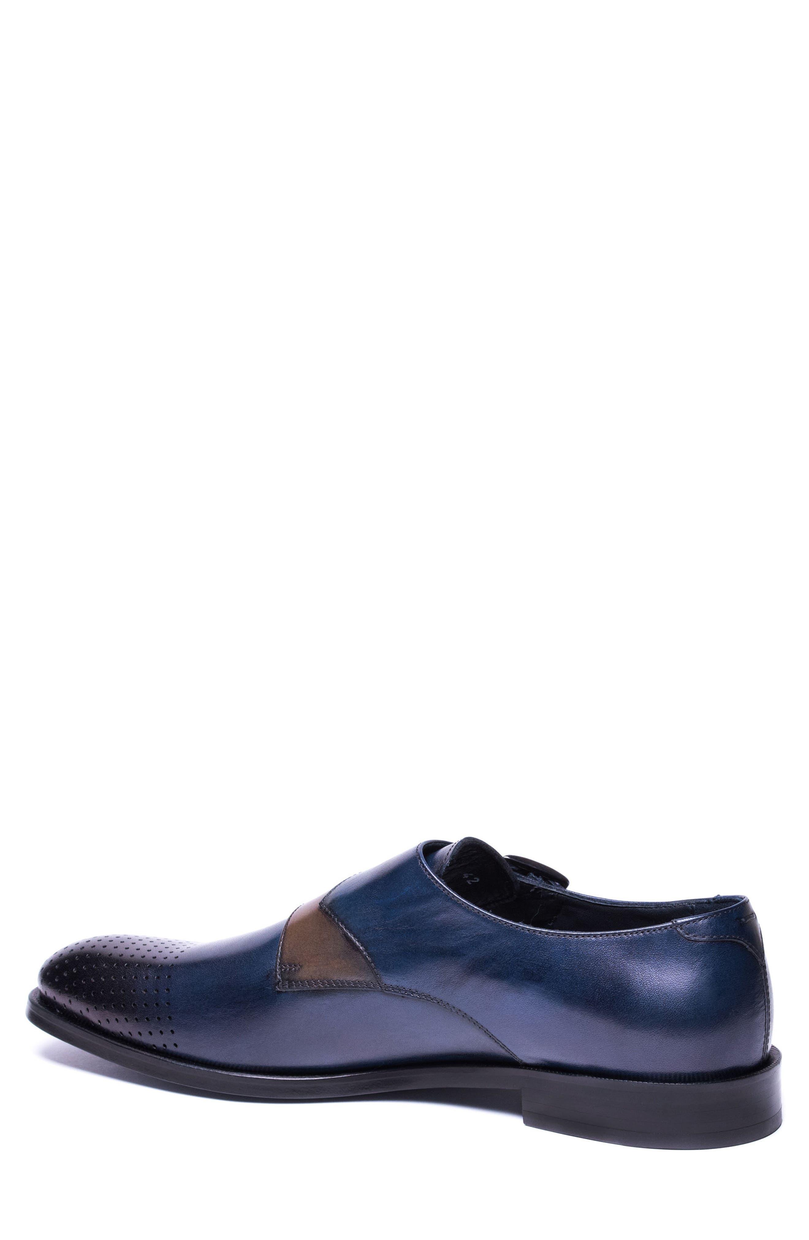 Double Buckle Monk Shoe,                             Alternate thumbnail 4, color,