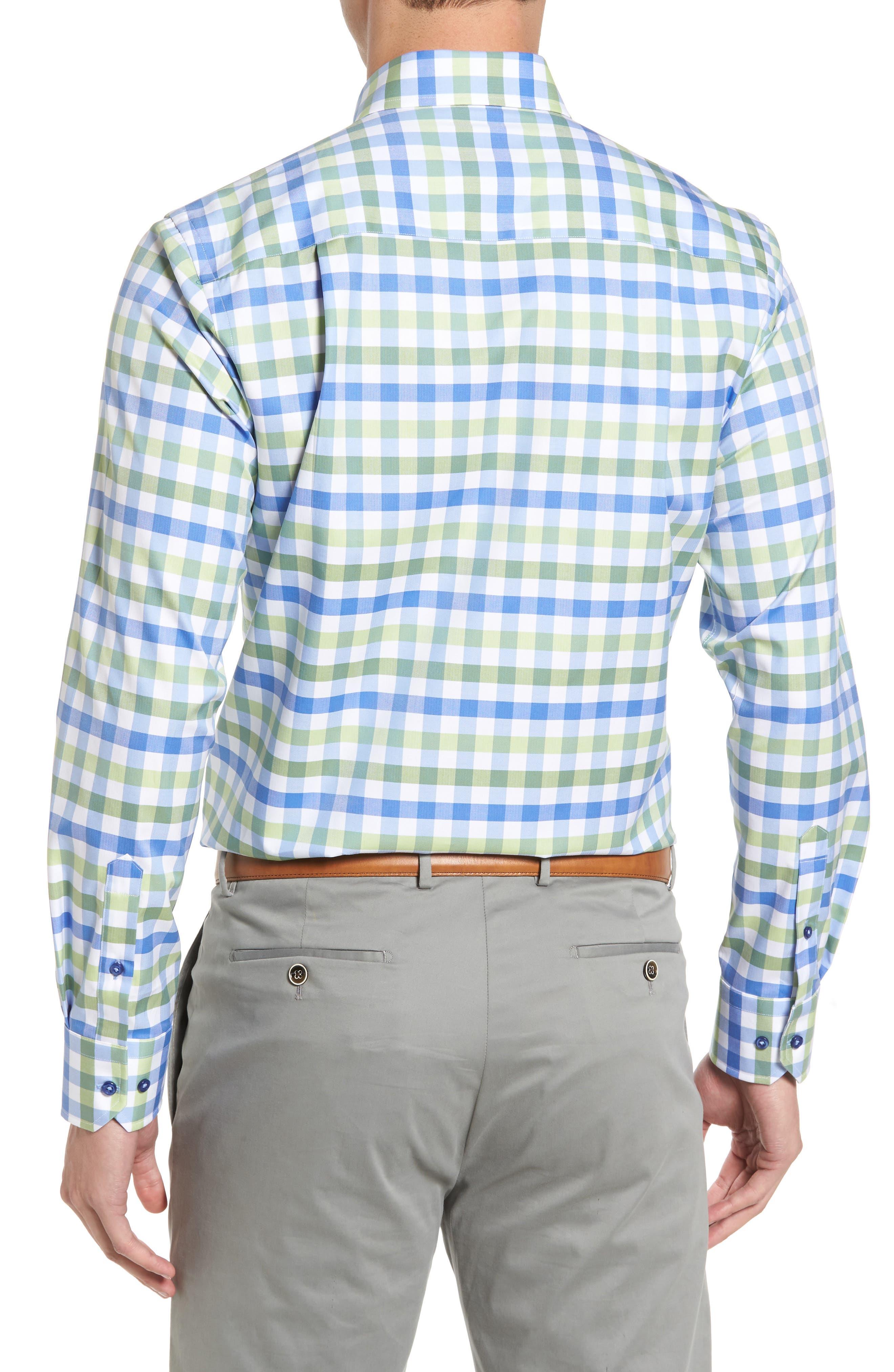 Regular Fit Check Sport Shirt,                             Alternate thumbnail 2, color,                             448