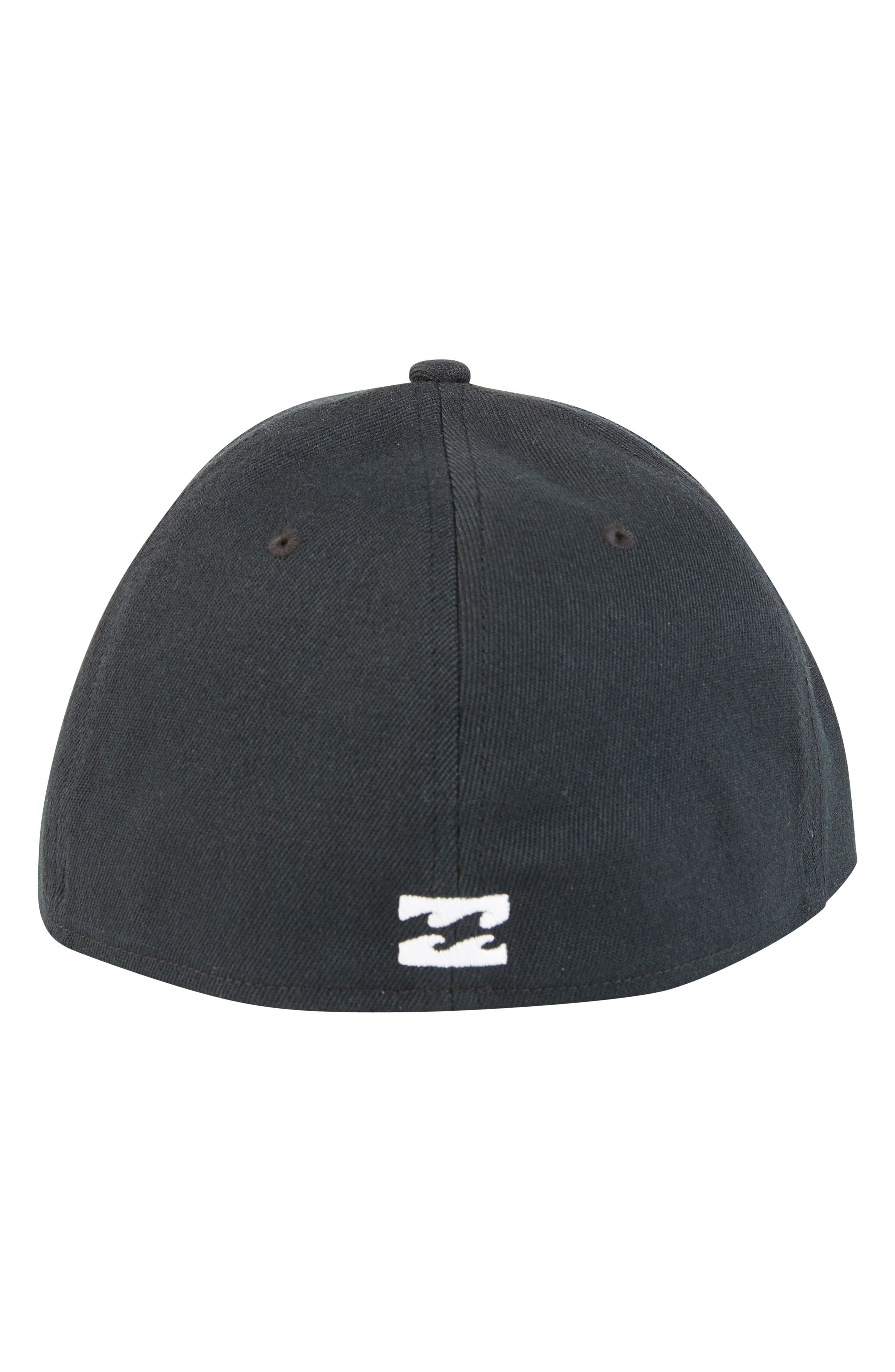 Walled Stretch Baseball Cap,                             Alternate thumbnail 3, color,                             001