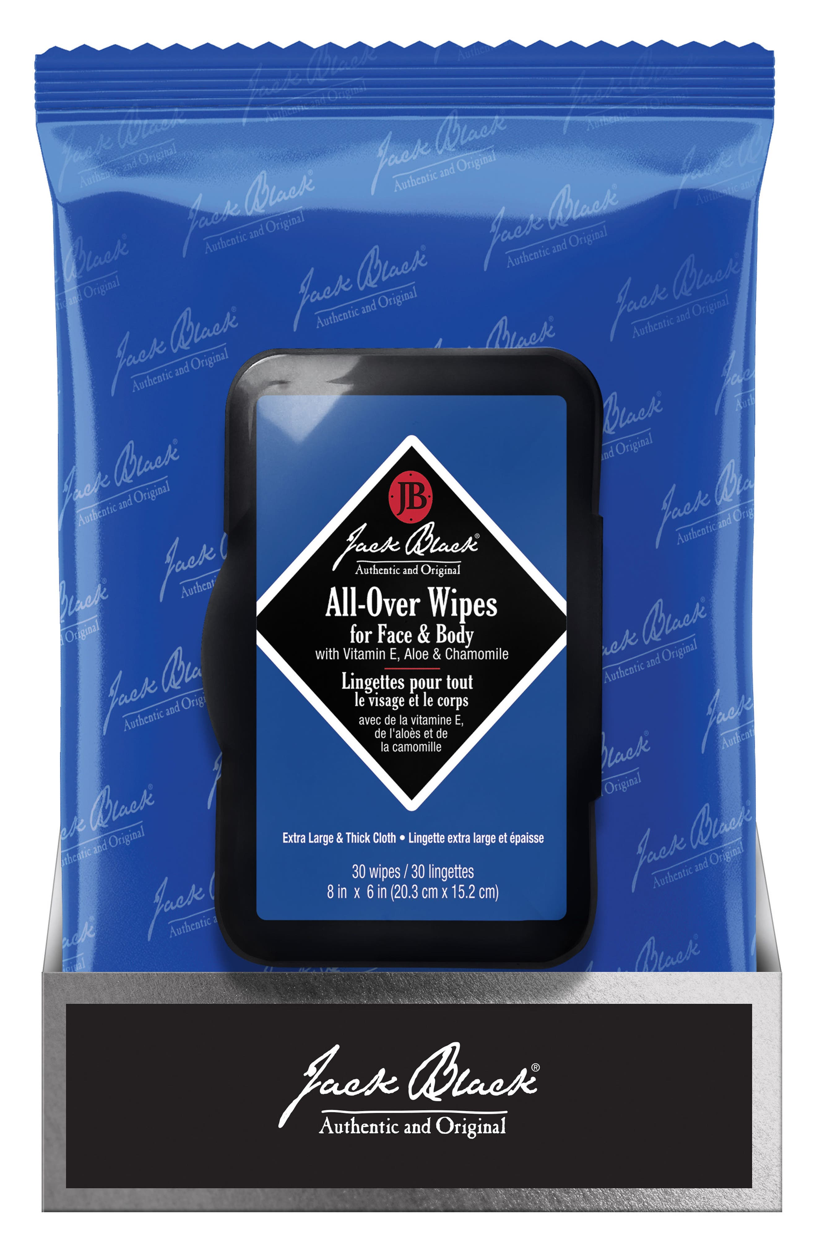 All-Over Wipes for Face & Body,                             Main thumbnail 1, color,                             NO COLOR