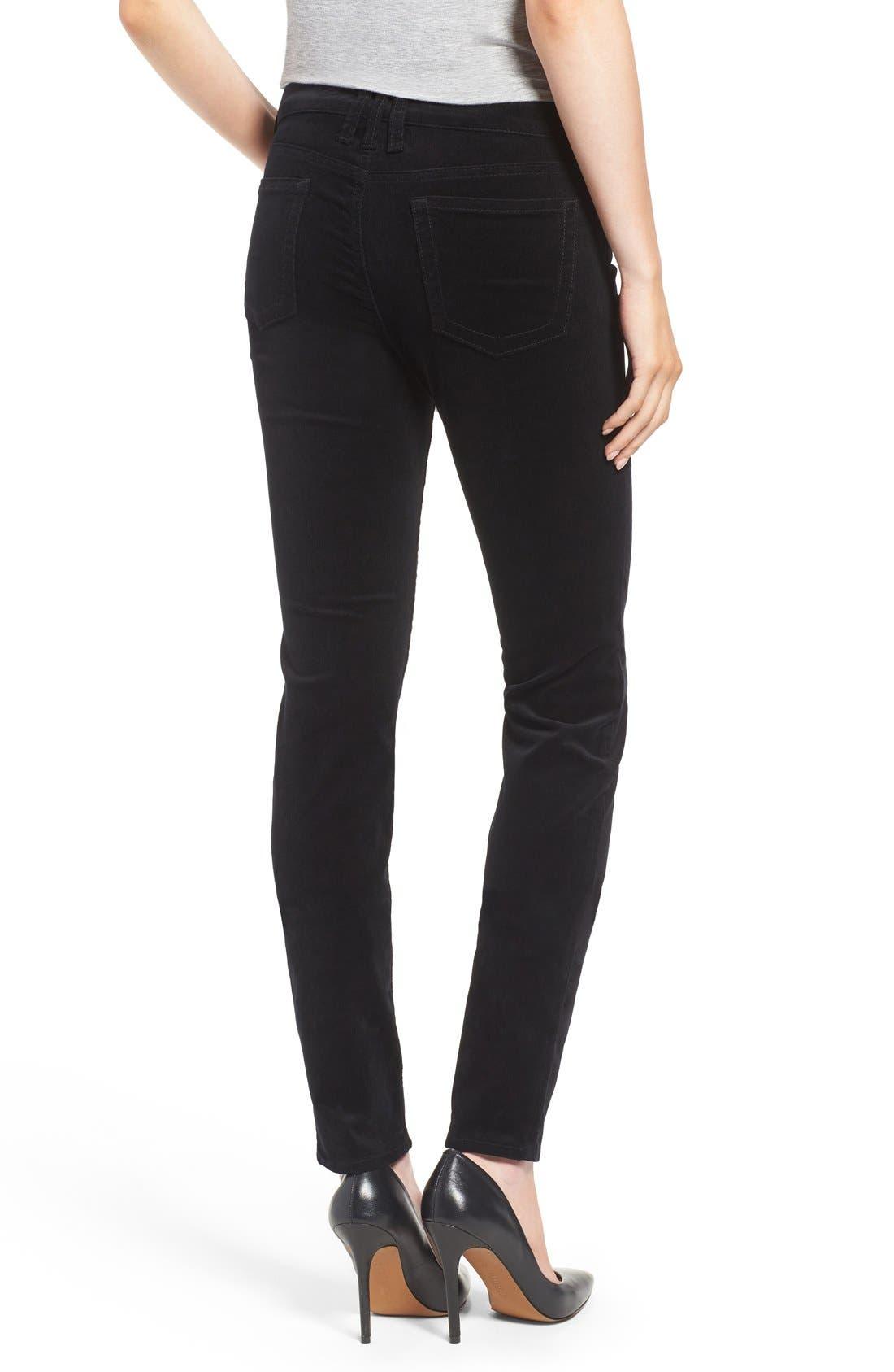 'Diana' Stretch Corduroy Skinny Pants,                             Alternate thumbnail 272, color,