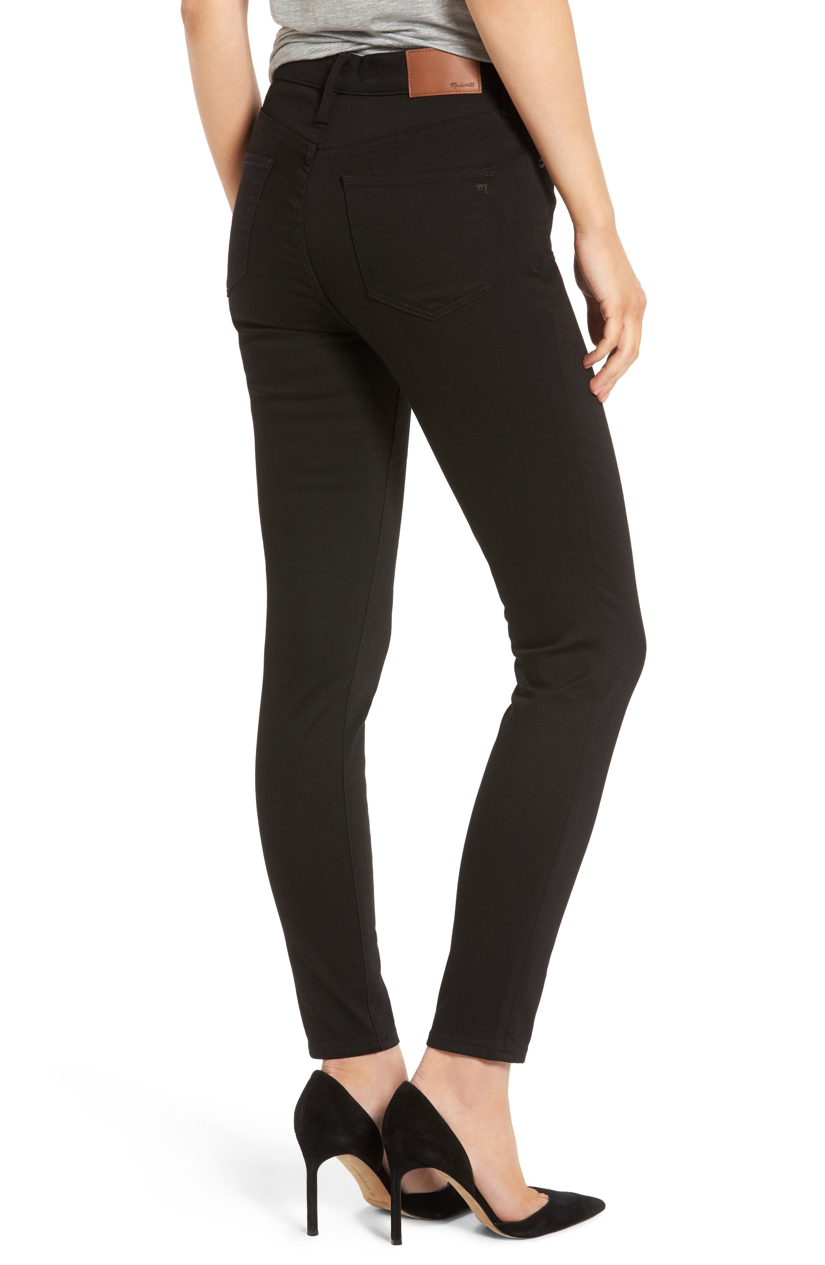 9-Inch High-Rise Skinny Jeans,                             Alternate thumbnail 4, color,