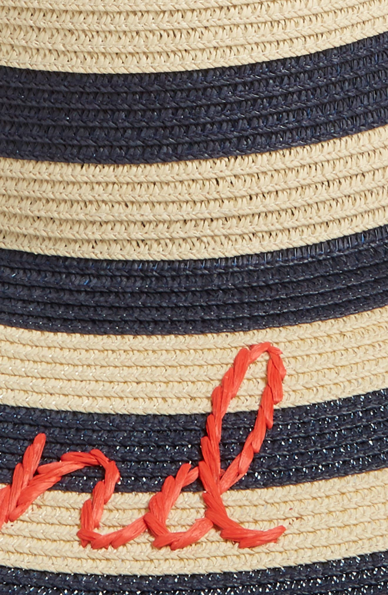 kate spade out and about straw hat,                             Alternate thumbnail 2, color,                             200