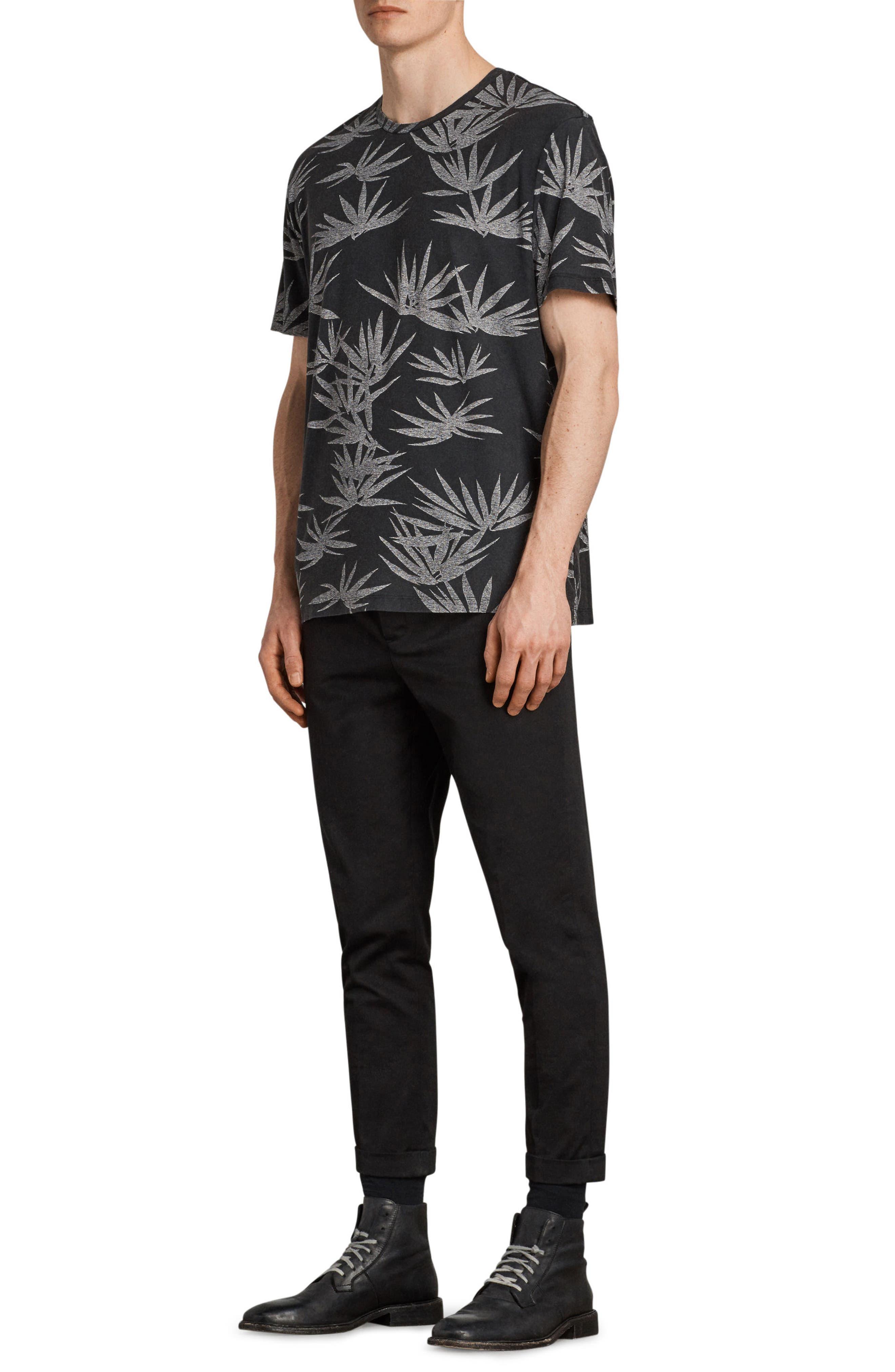 Bhutan Short Sleeve T-Shirt,                             Alternate thumbnail 4, color,                             BLACK